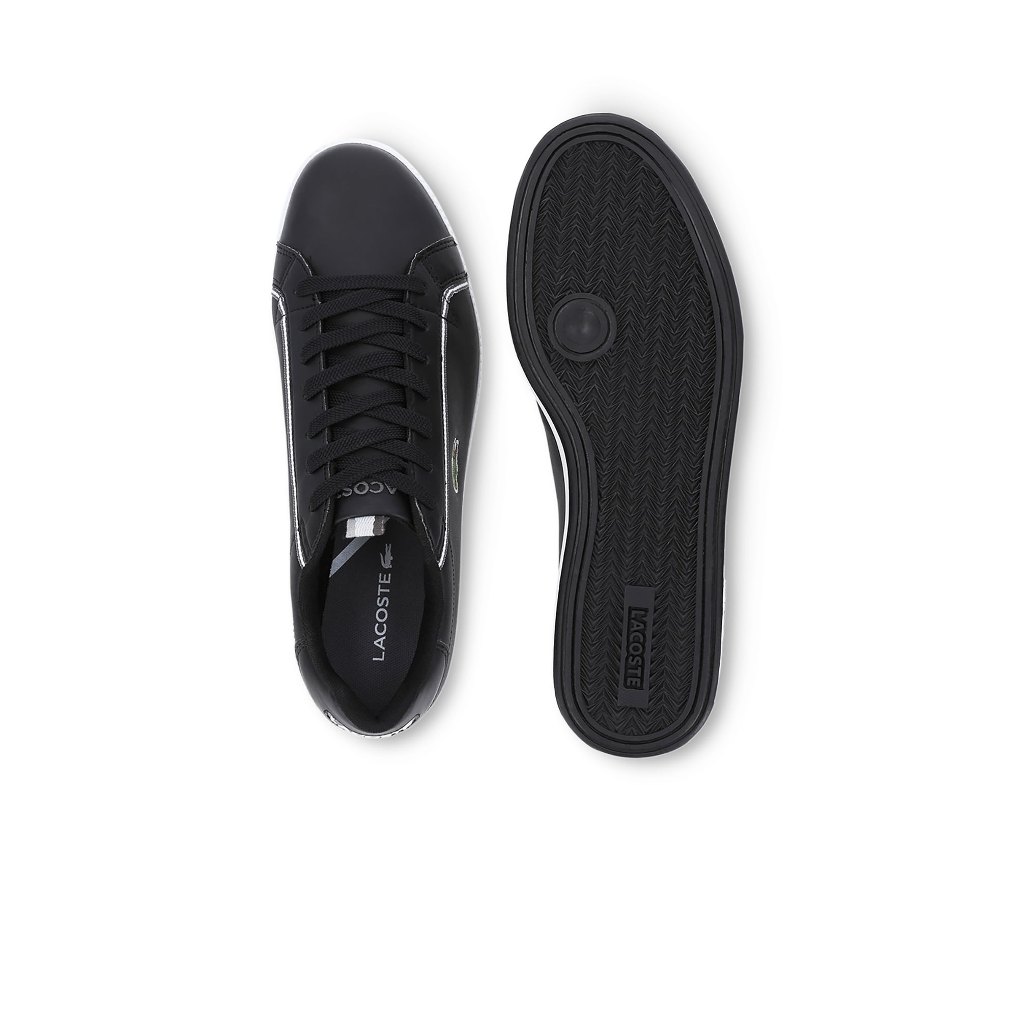 Men's Graduate Leather and Synthetic Trainers