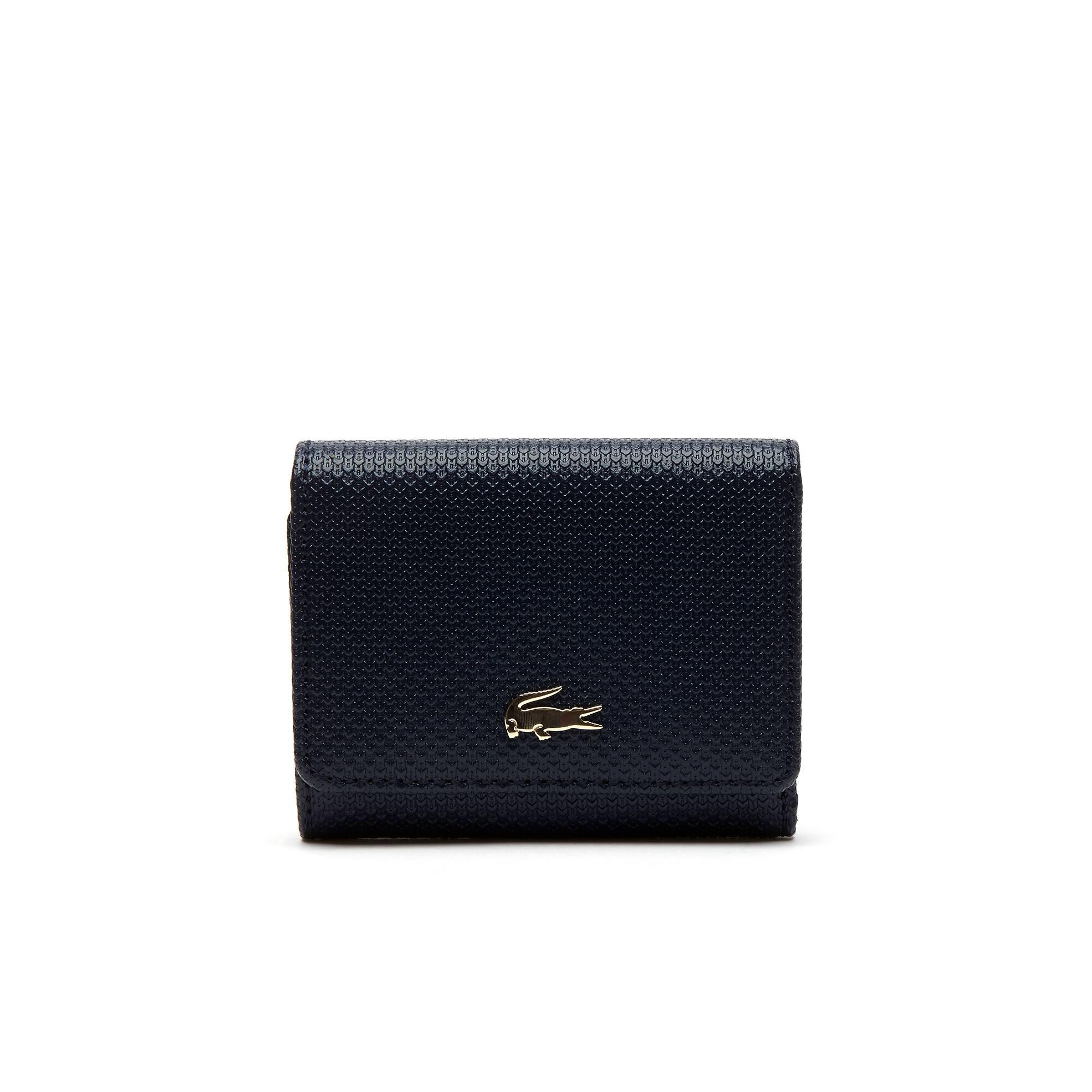 Women's Chantaco Piqué Leather Six Card Wallet