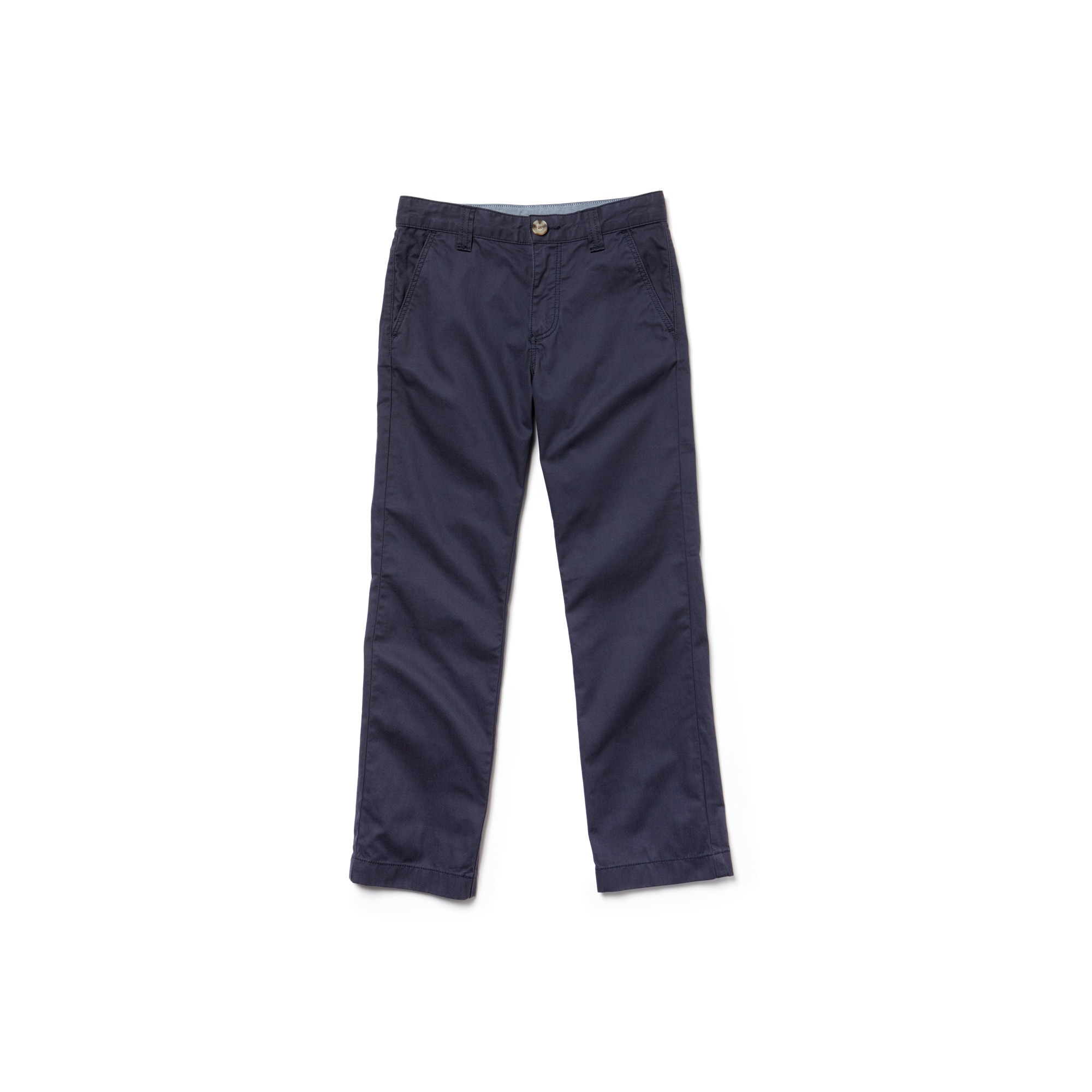 Kids Chino pants in colored cotton gabardine