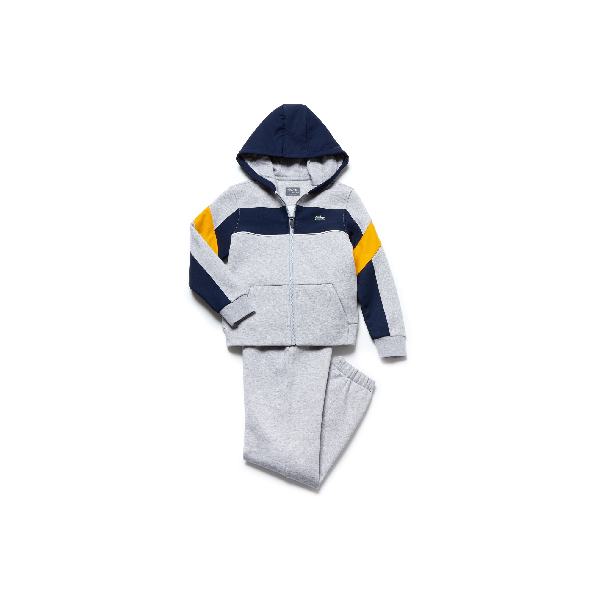 Boys' Lacoste SPORT Fleece And Taffeta Tennis Tracksuit