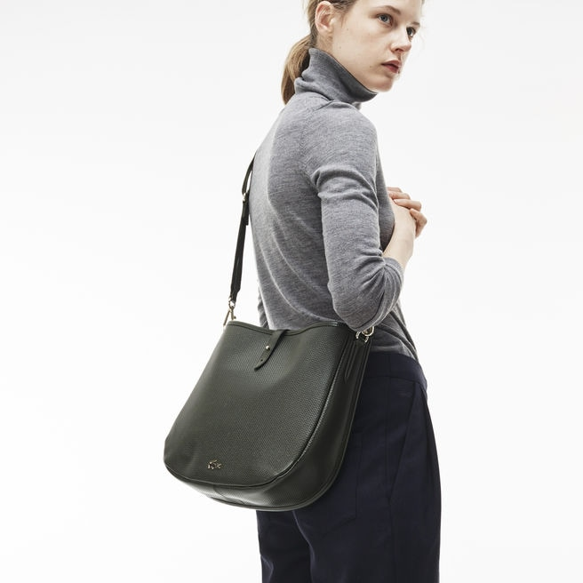Women's Chantaco Piqué Leather Hobo Bag