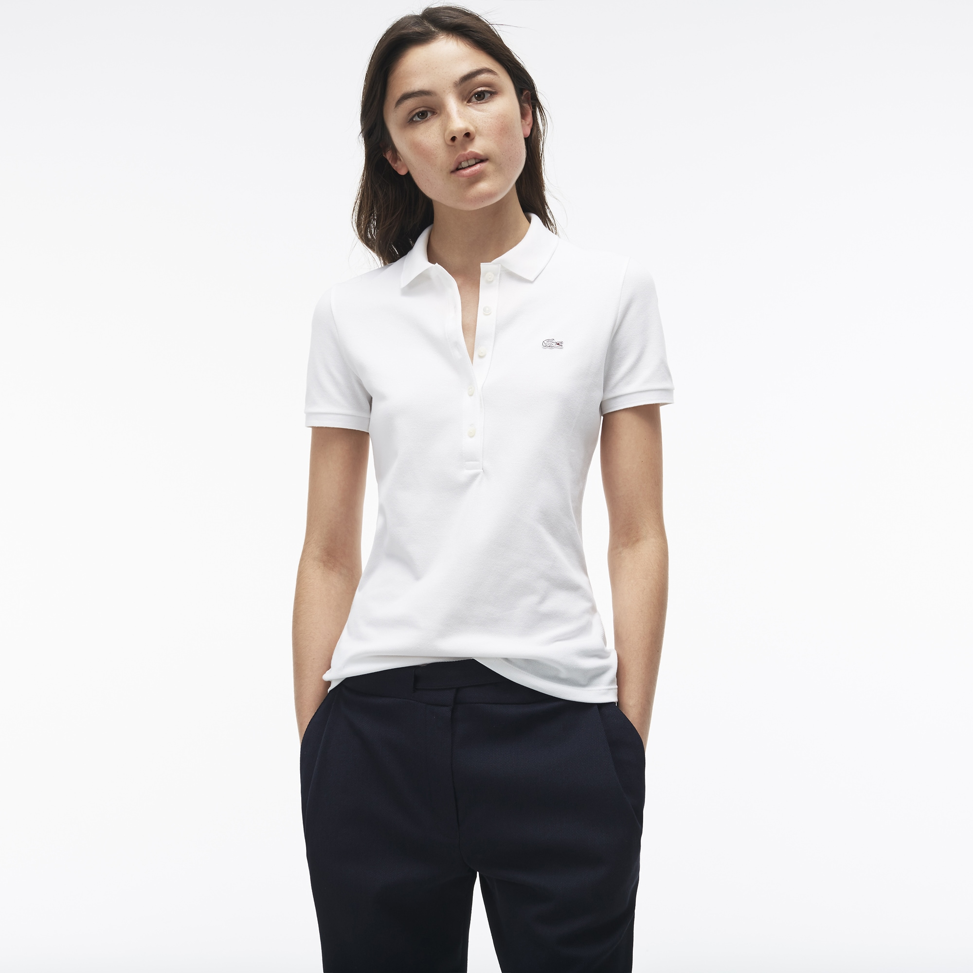 Customized Women's Lacoste Polo