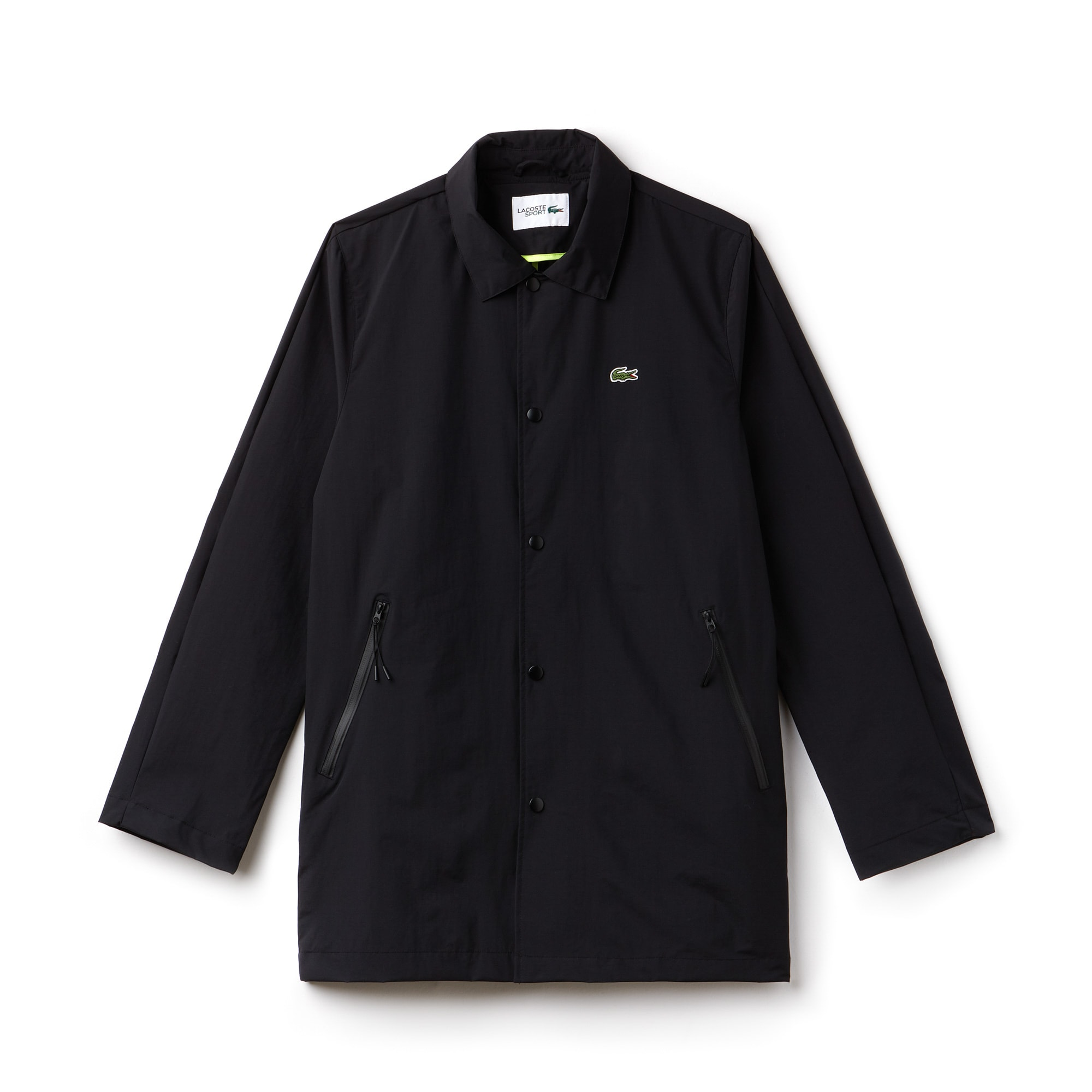 Men's Lacoste SPORT Coated Twill Raincoat