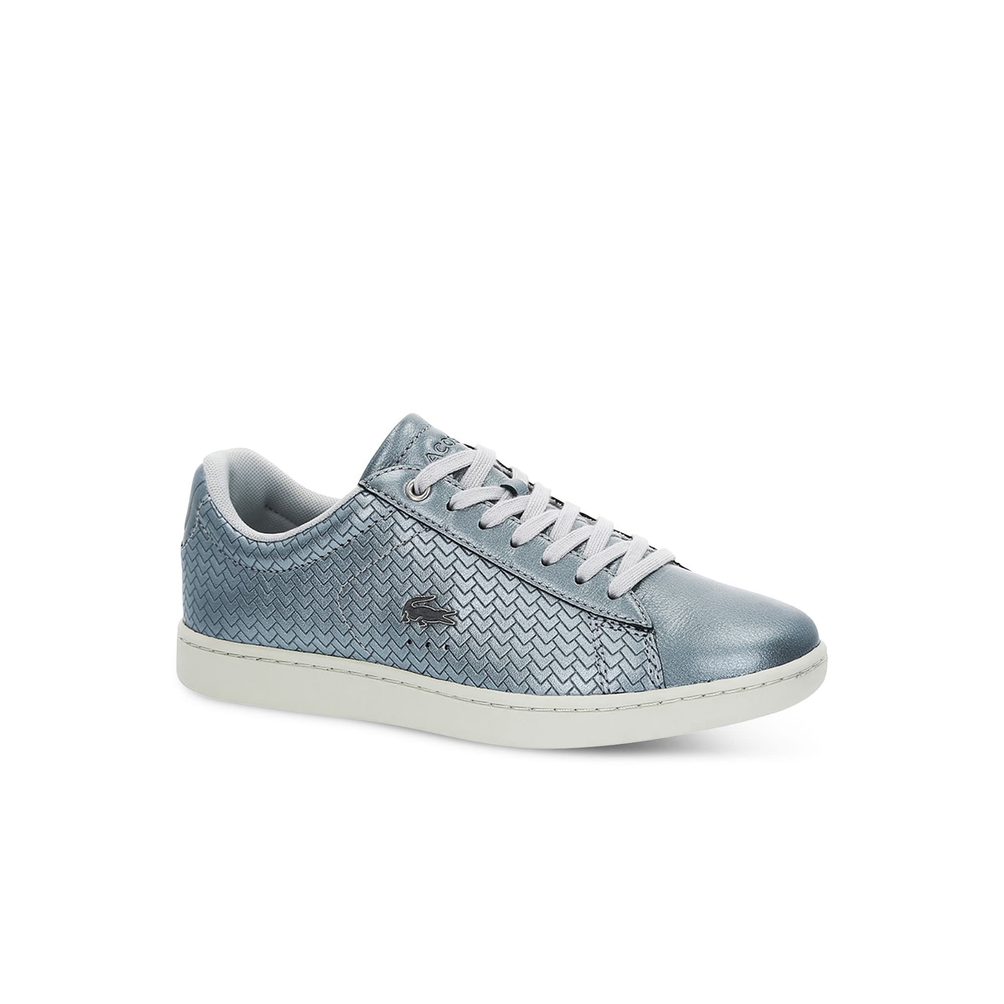 Women's Carnaby Evo Metallic Embossed Leather Trainers