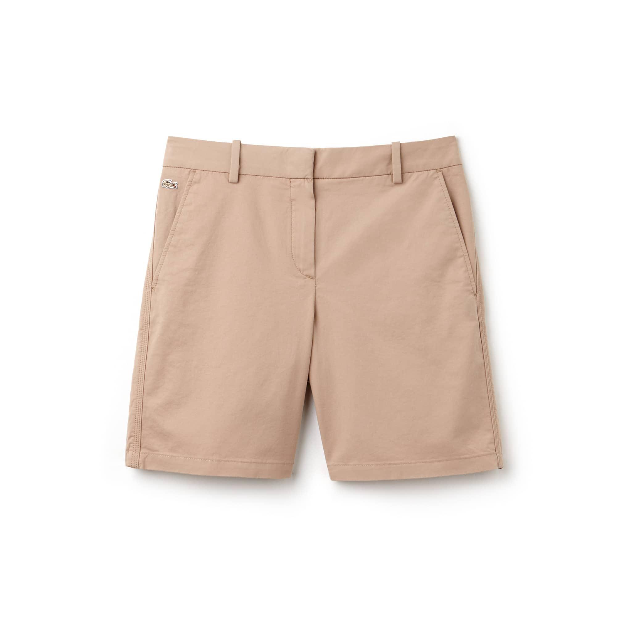 Women's Chino Cut Stretch Gabardine Bermuda Shorts