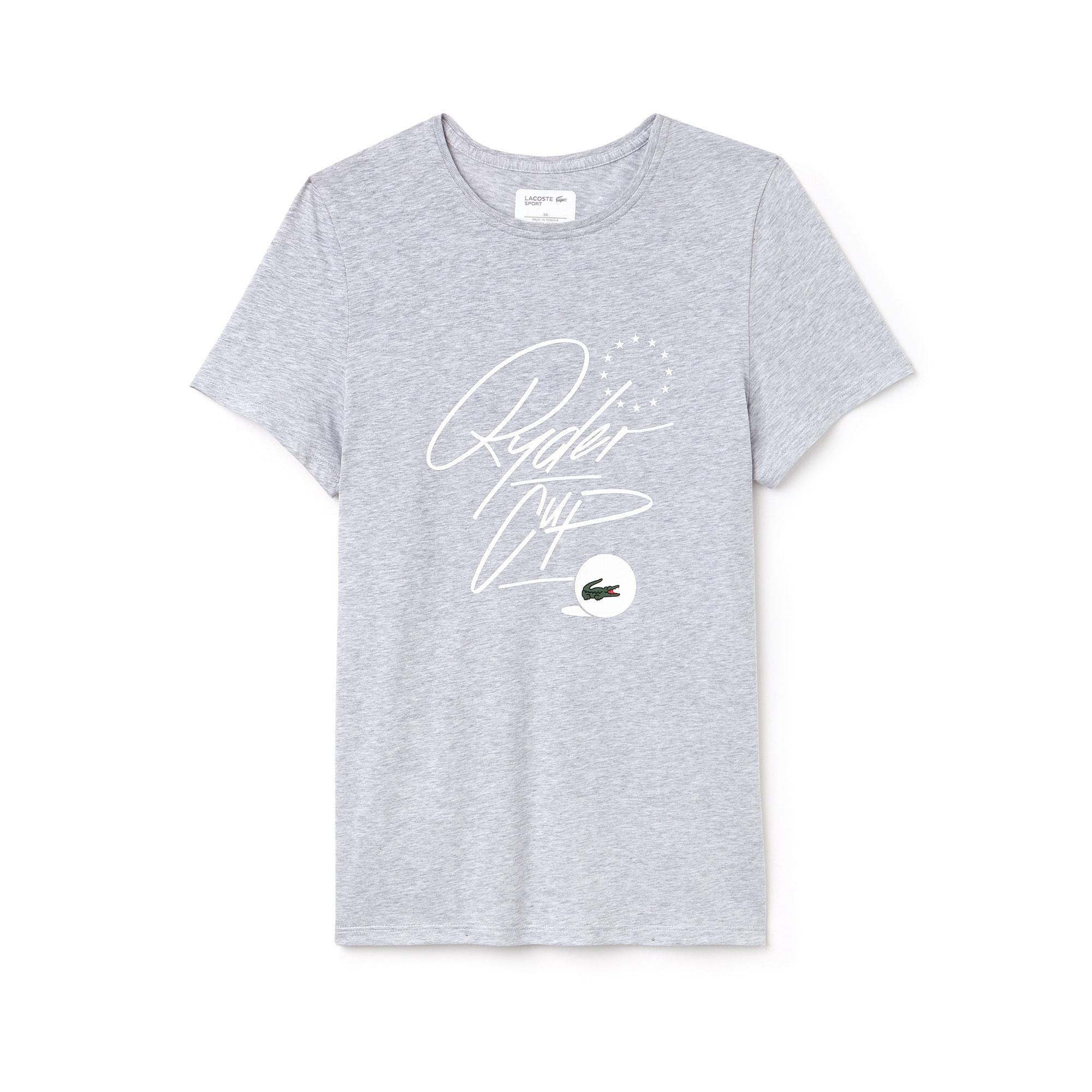 Women's Lacoste SPORT Ryder Cup Edition Jersey Golf T-shirt