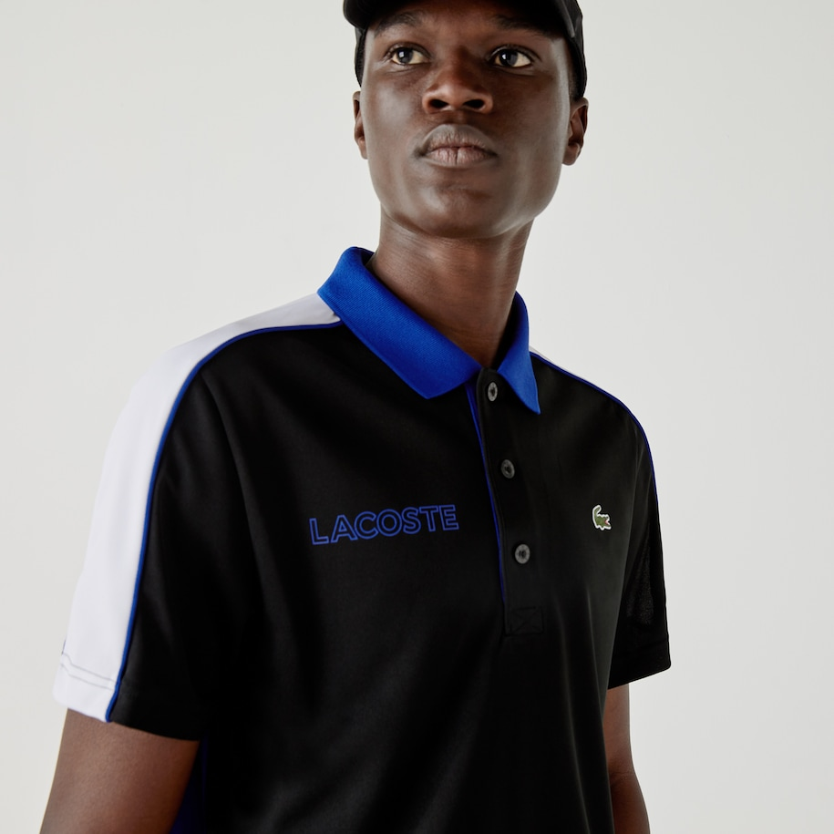 Men's Lacoste SPORT French Capsule Breathable Polo Shirt