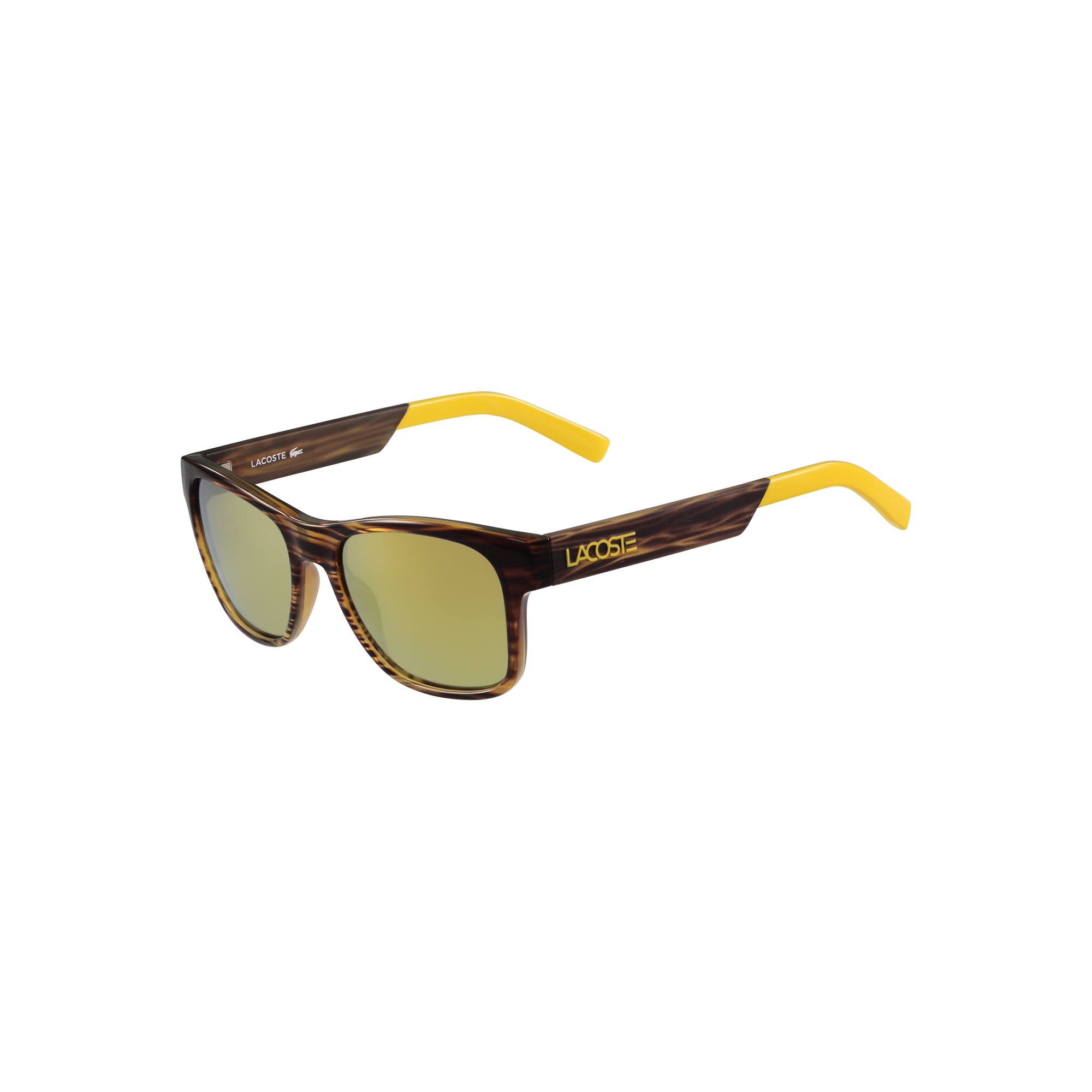 Color Block Sunglasses with Plastic Frames