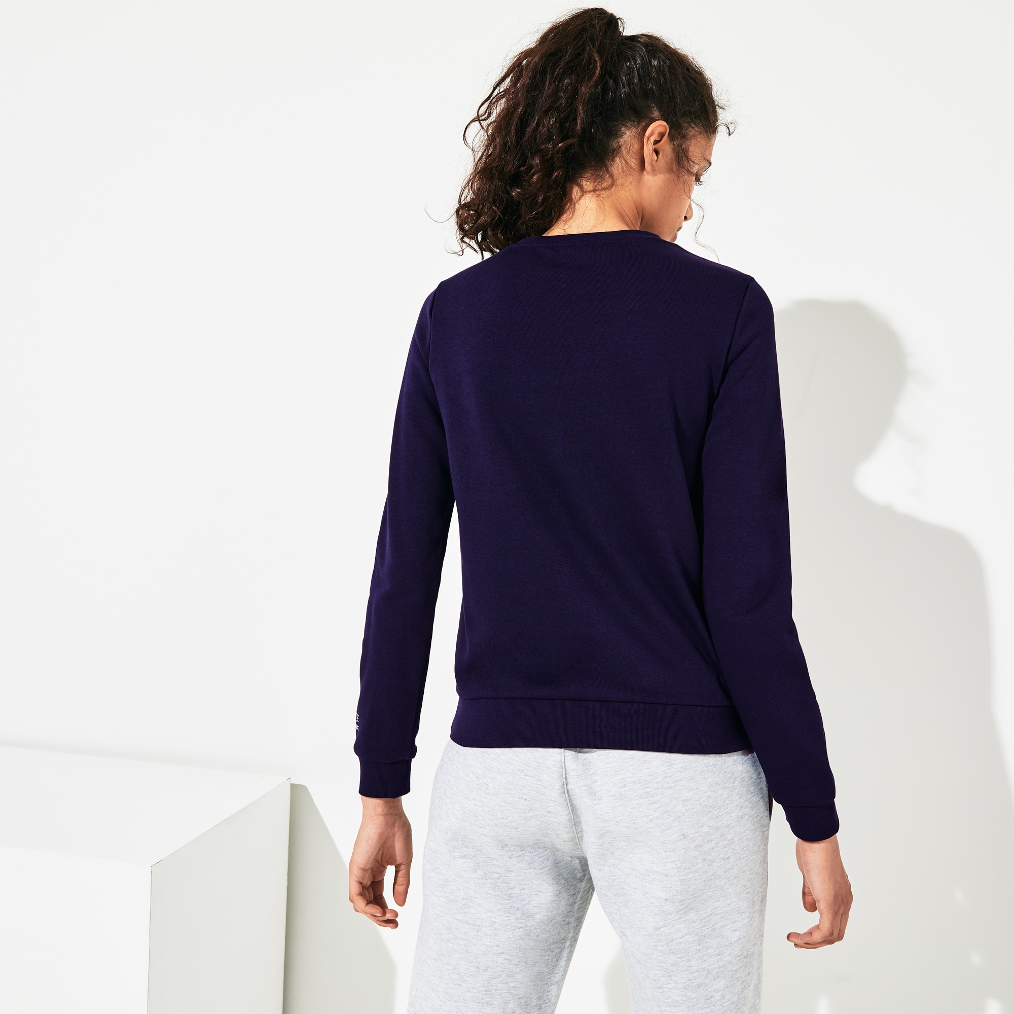 Women's Lacoste SPORT Tennis Cotton Fleece Sweatshirt