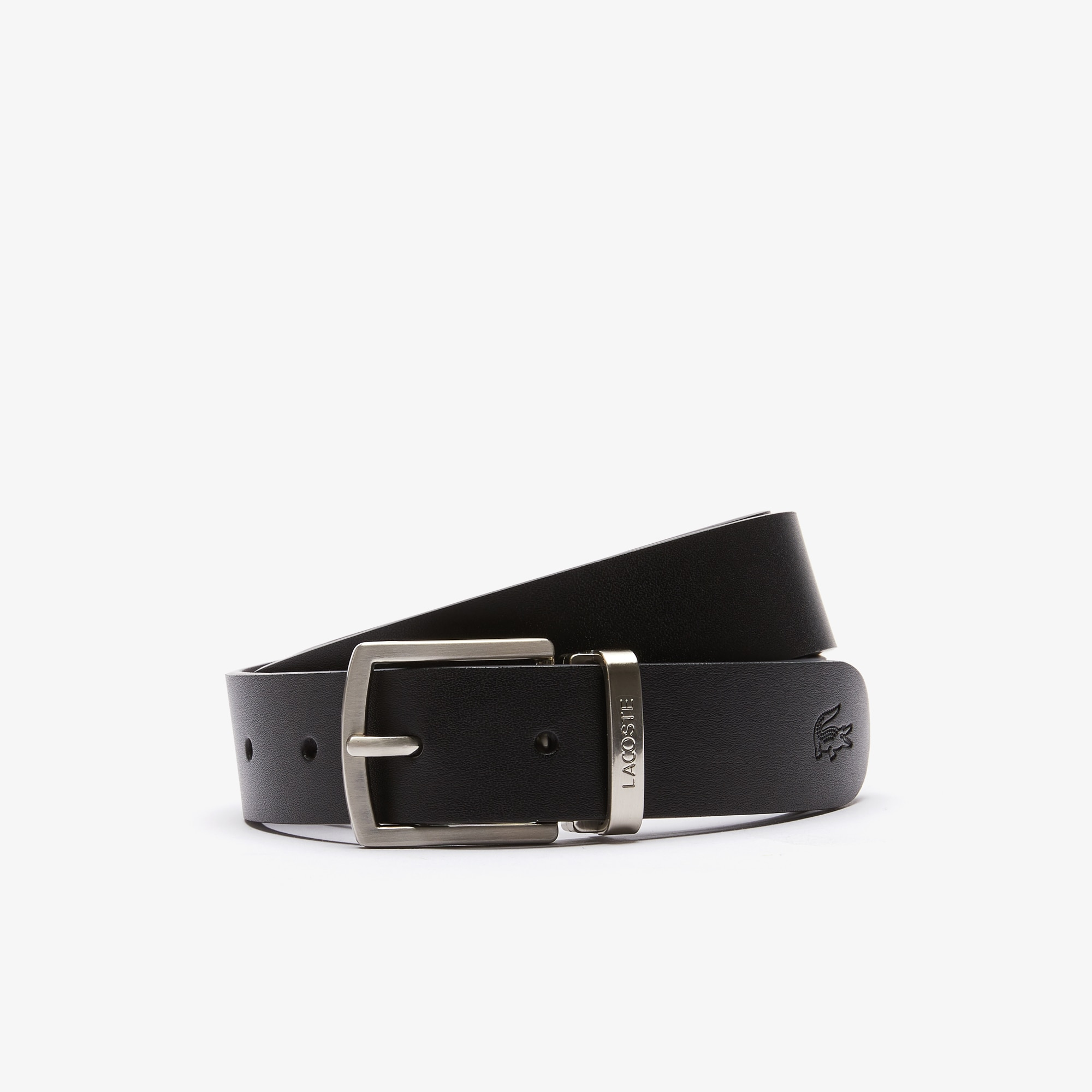 e148d91a Men's Reversible Leather Belt And 2 Buckles Gift Set