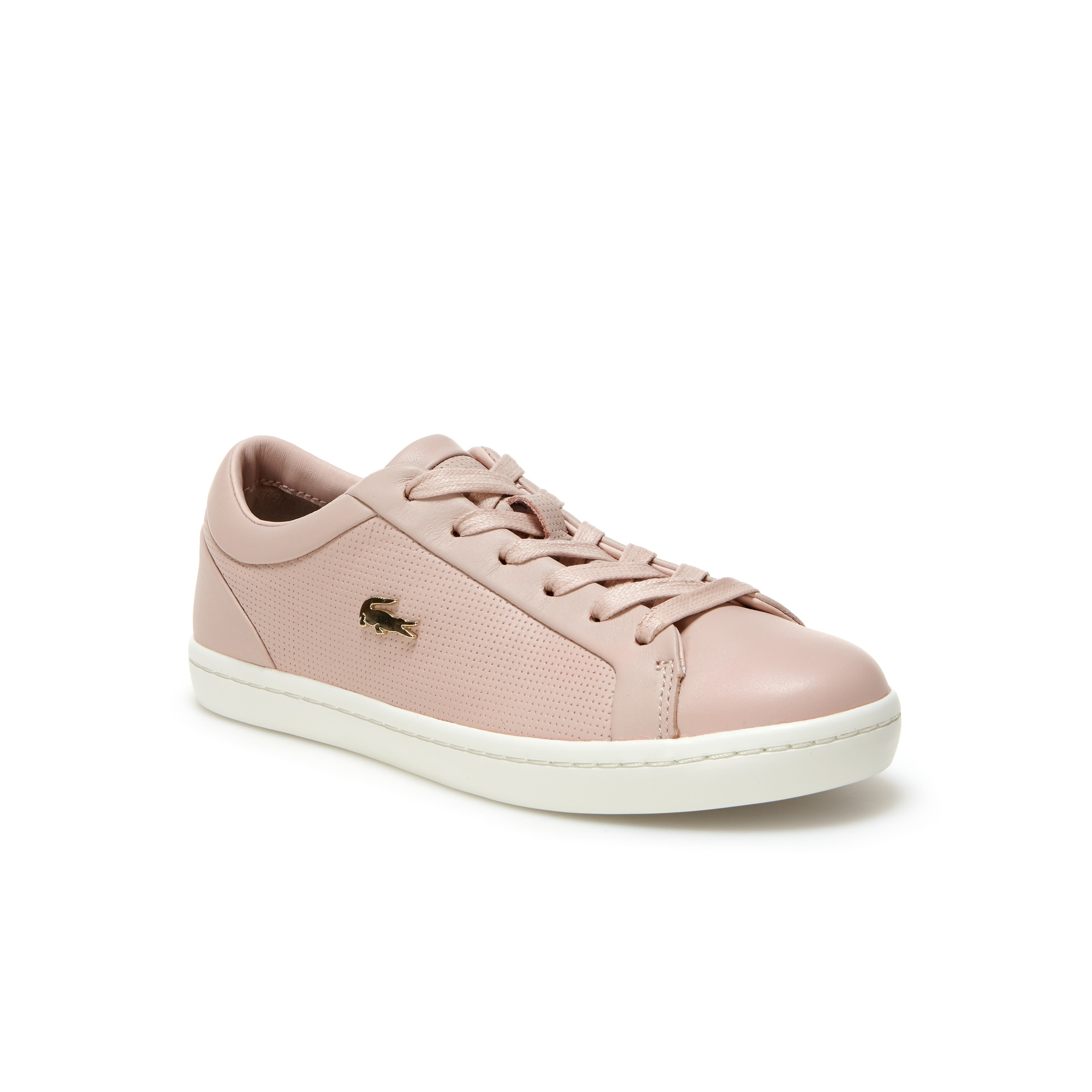Women's Straightset Nappa Leather Trainers