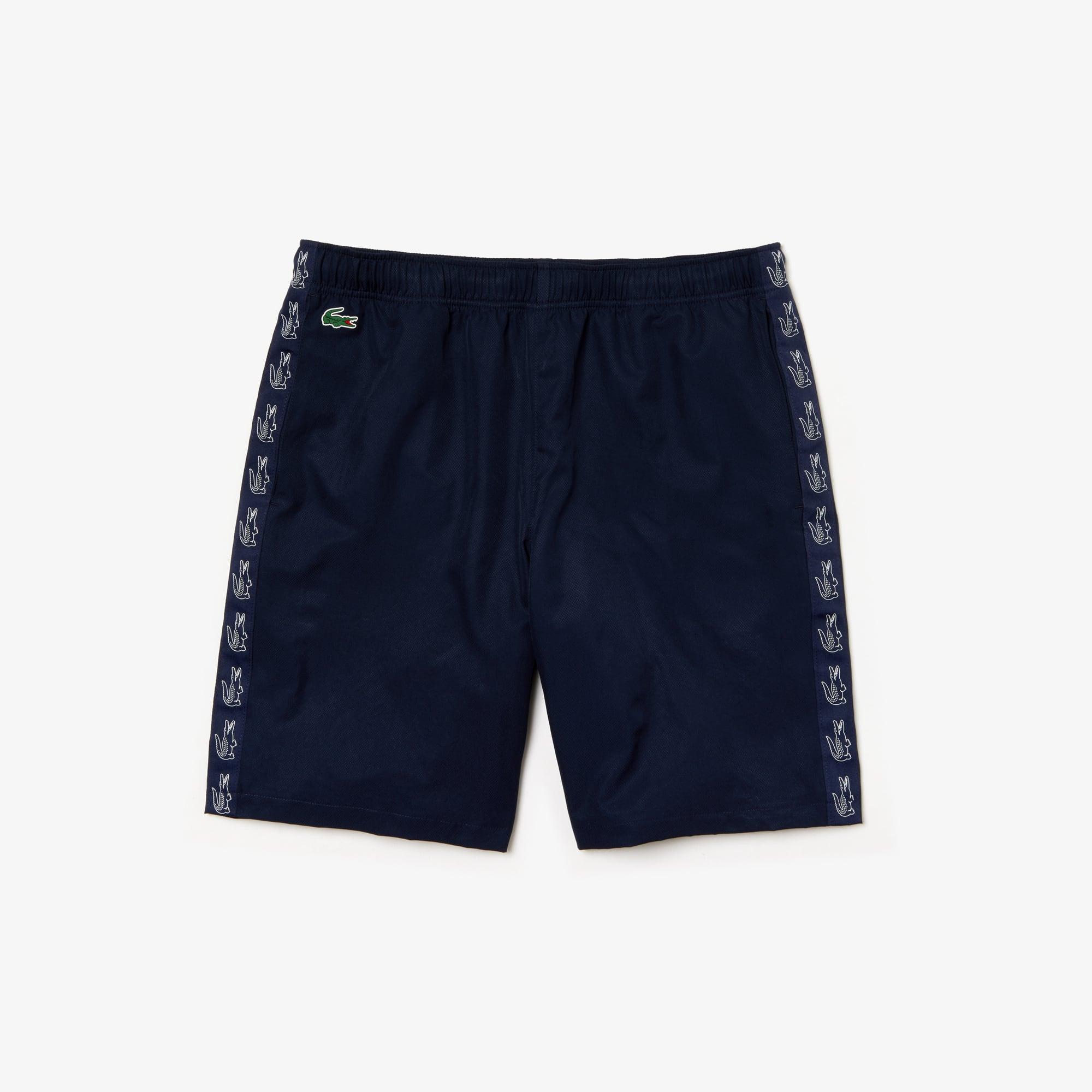Croc Lightweight Sport Shorts Tennis Band Lacoste Print Men's sxCthrdQ