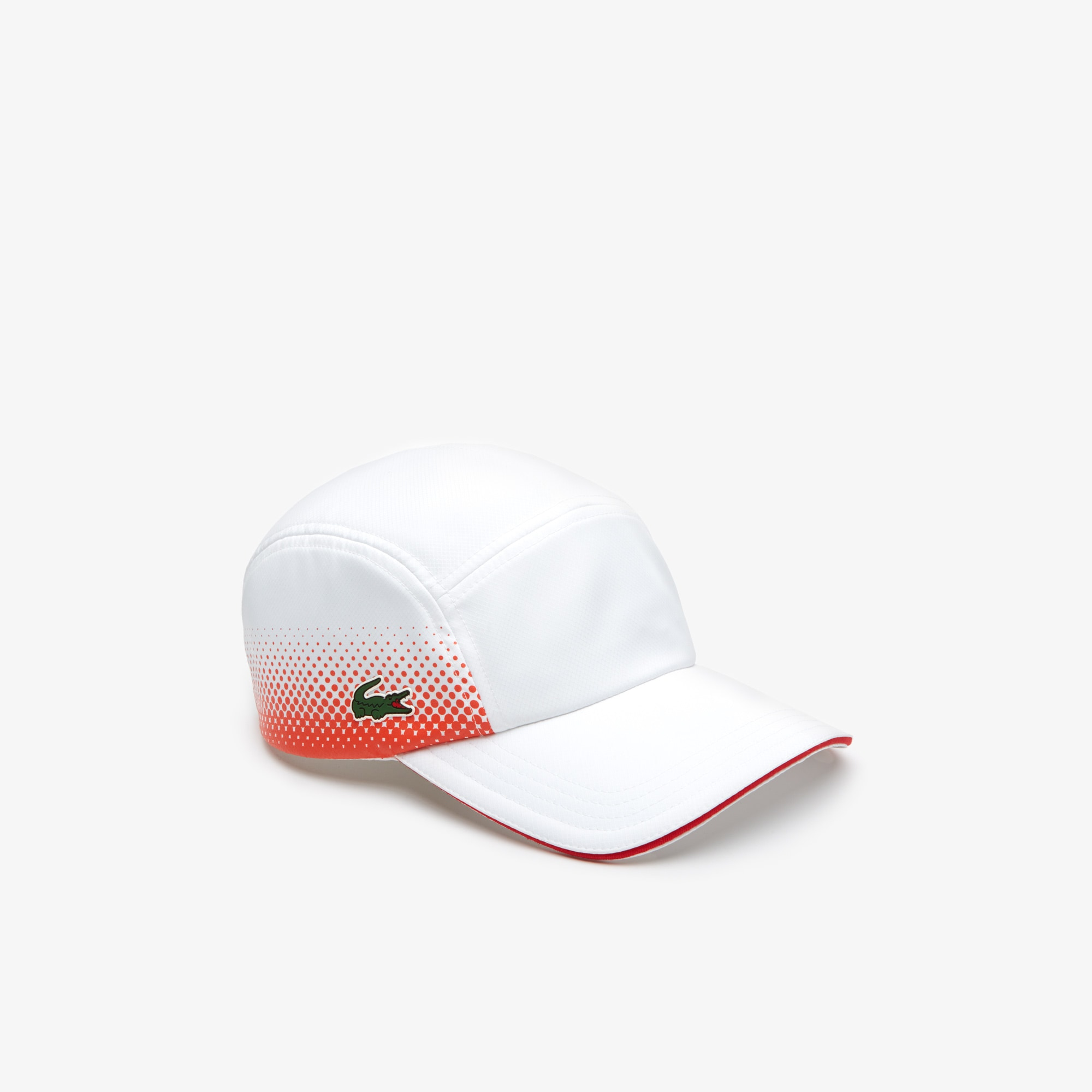 Men's Lacoste SPORT Shaded Print And Contrast Piping Tennis Cap