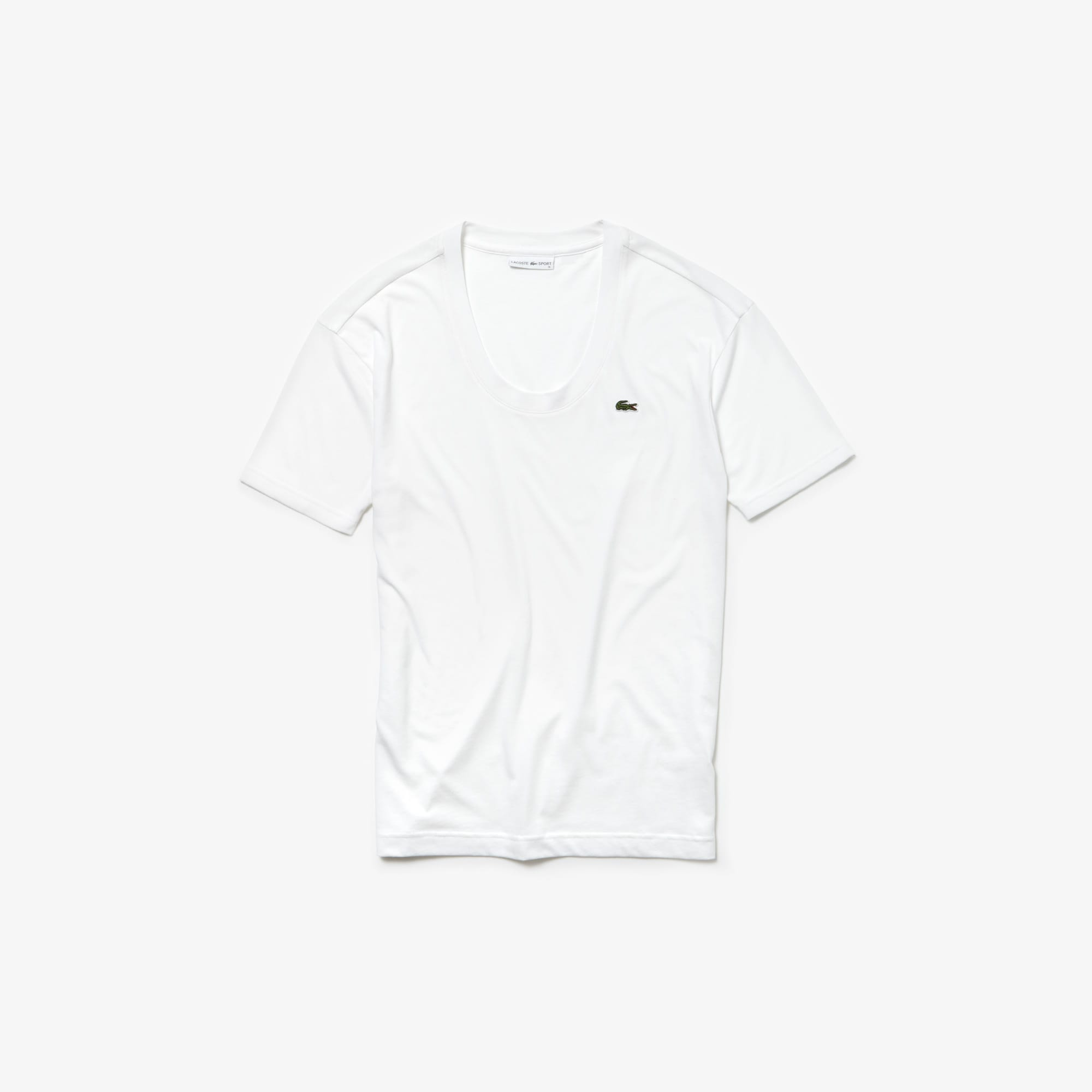 Women's Lacoste SPORT U-neck Flowing Jersey Tennis T-shirt