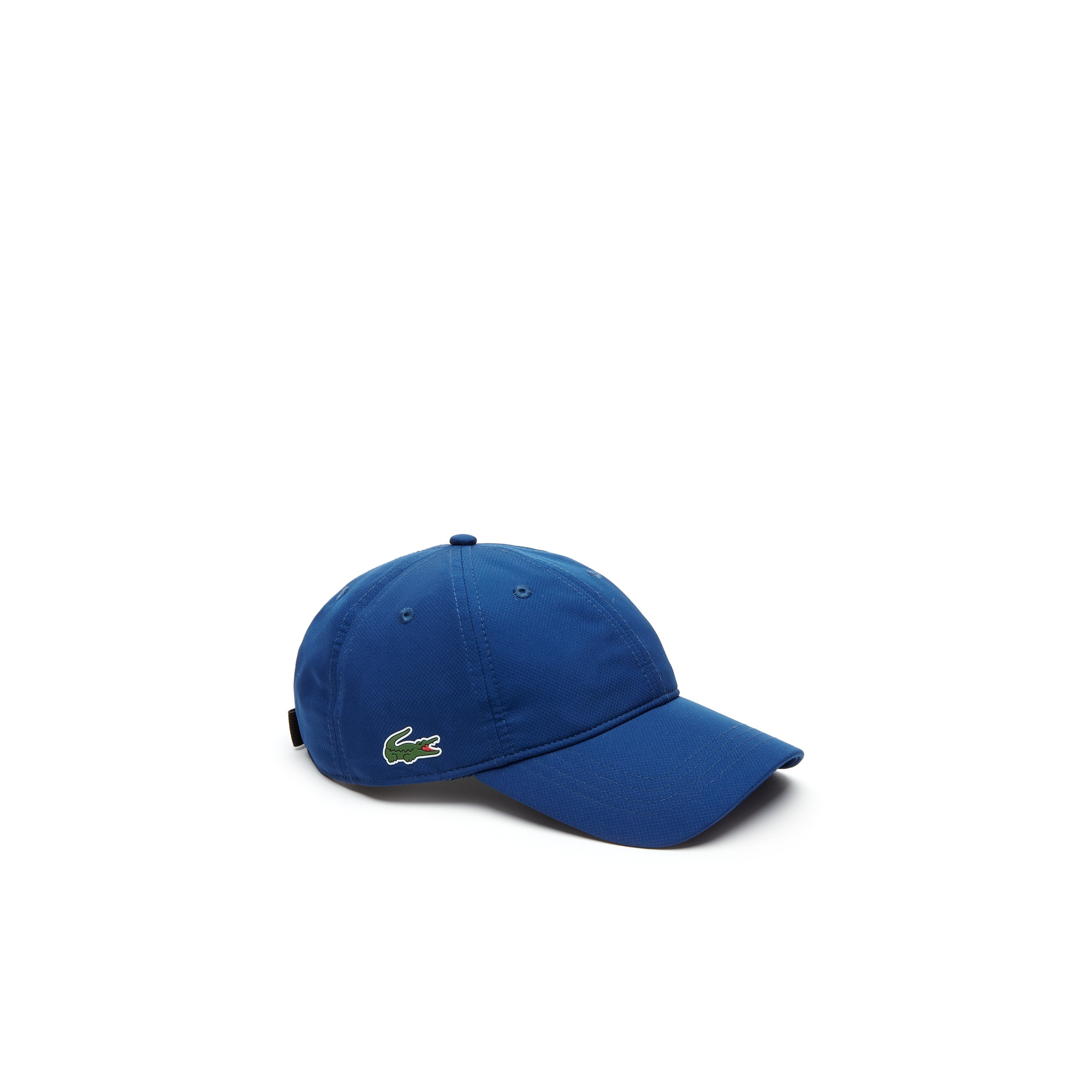 Men's Lacoste SPORT cap in solid diamond weave taffeta