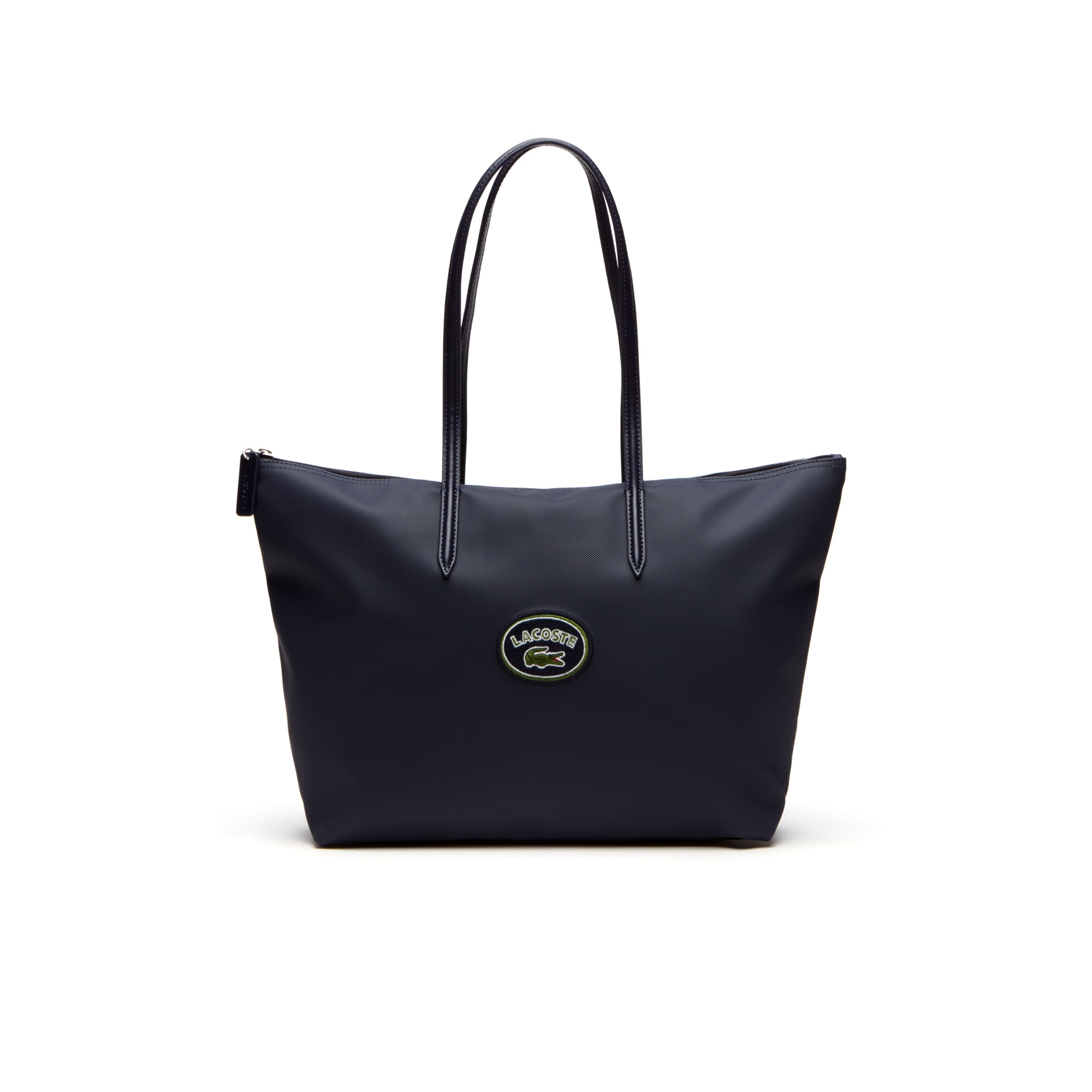 Women's L.12.12 Concept Lacoste Badge Large Zip Tote