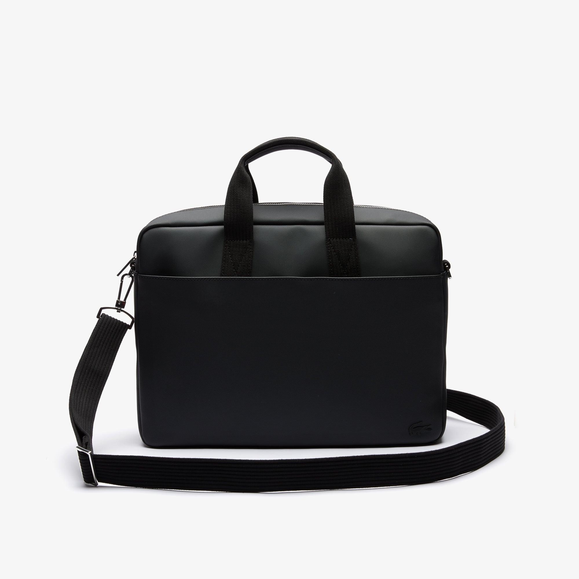 Men's Classic Petit Piqué Computer Bag