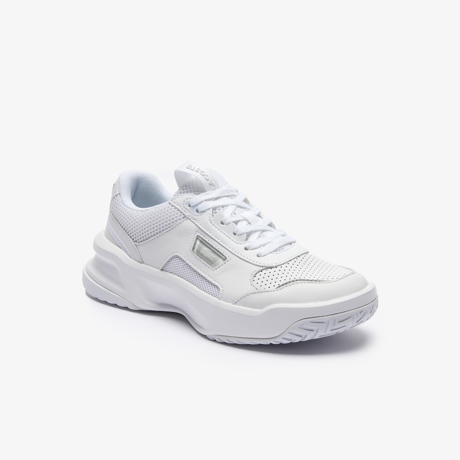 Women's Ace Lift Tonal Leather and Textile Trainers