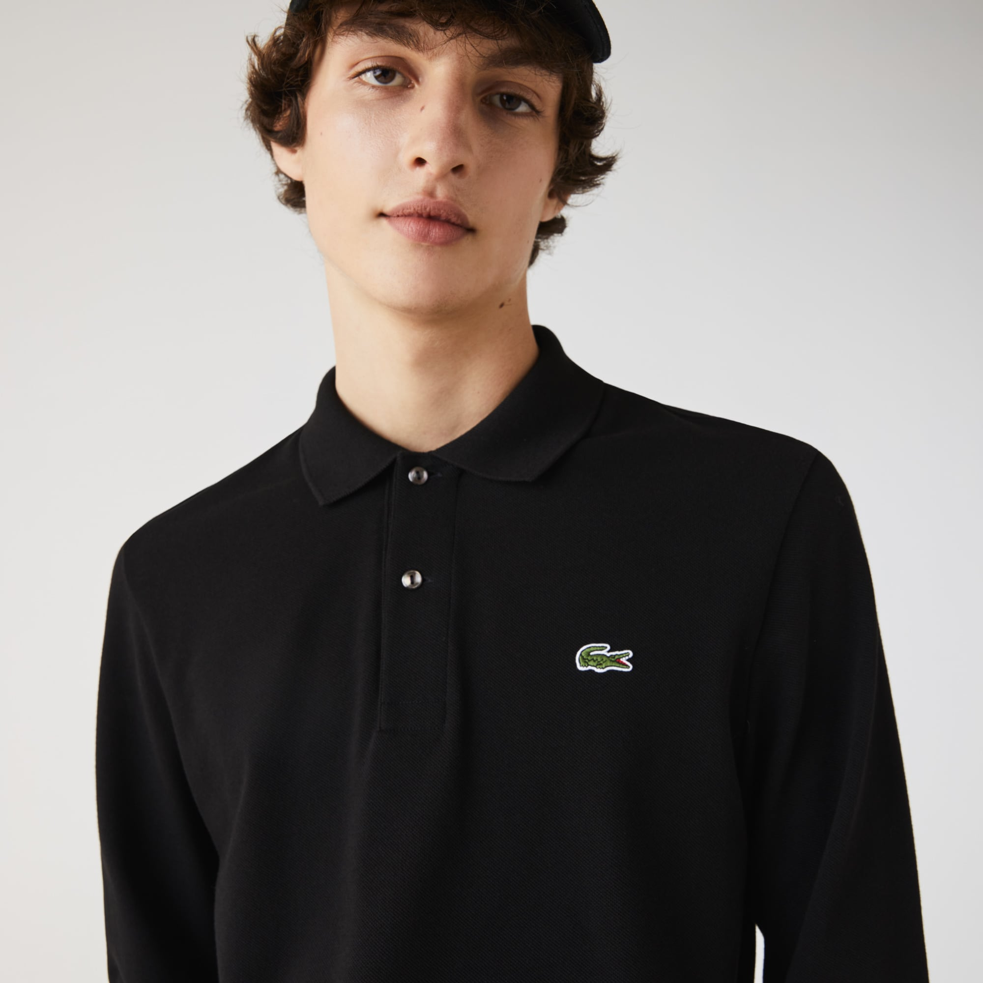 Long-sleeve Lacoste L.12.12 Polo Shirt