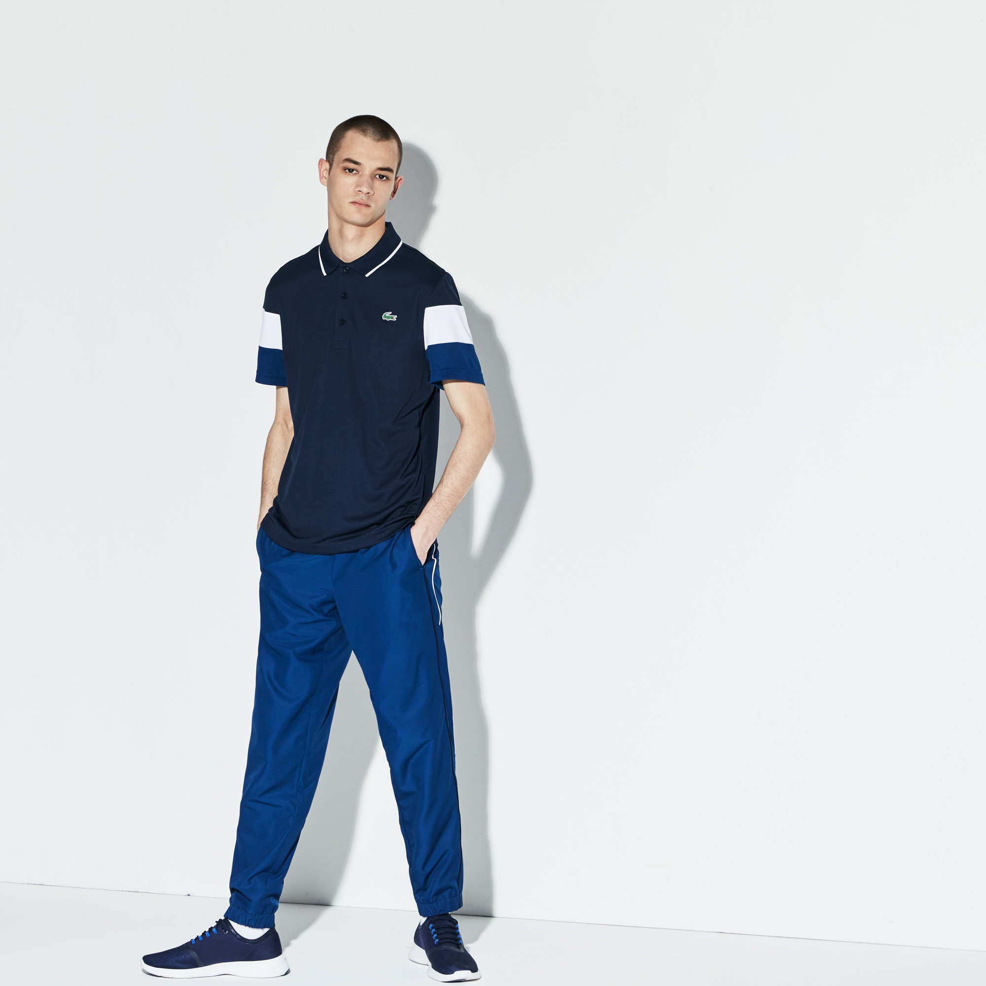 Men's Lacoste SPORT Piped Taffeta Sweatpants