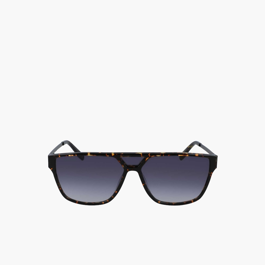 Modified Rectangle Acetate Urban Corner Sunglasses