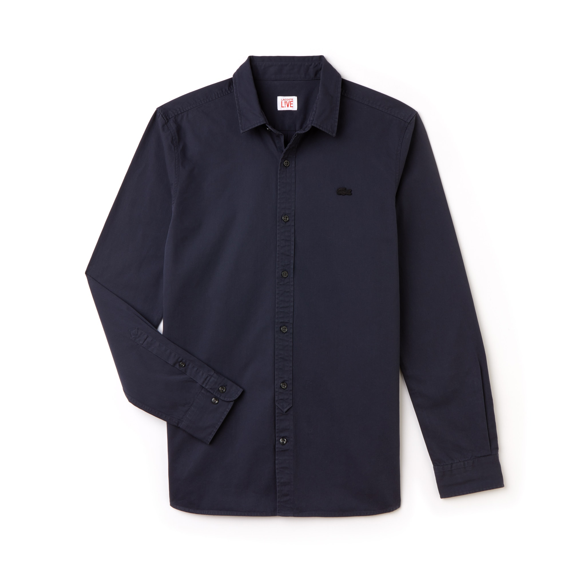 Men's Lacoste LIVE Skinny Fit Cotton Poplin Shirt