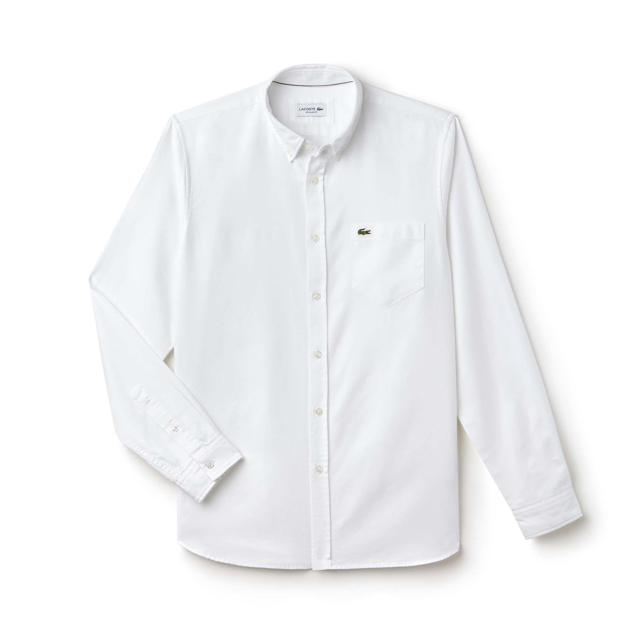 Men's Regular Fit Cotton Piqué Shirt