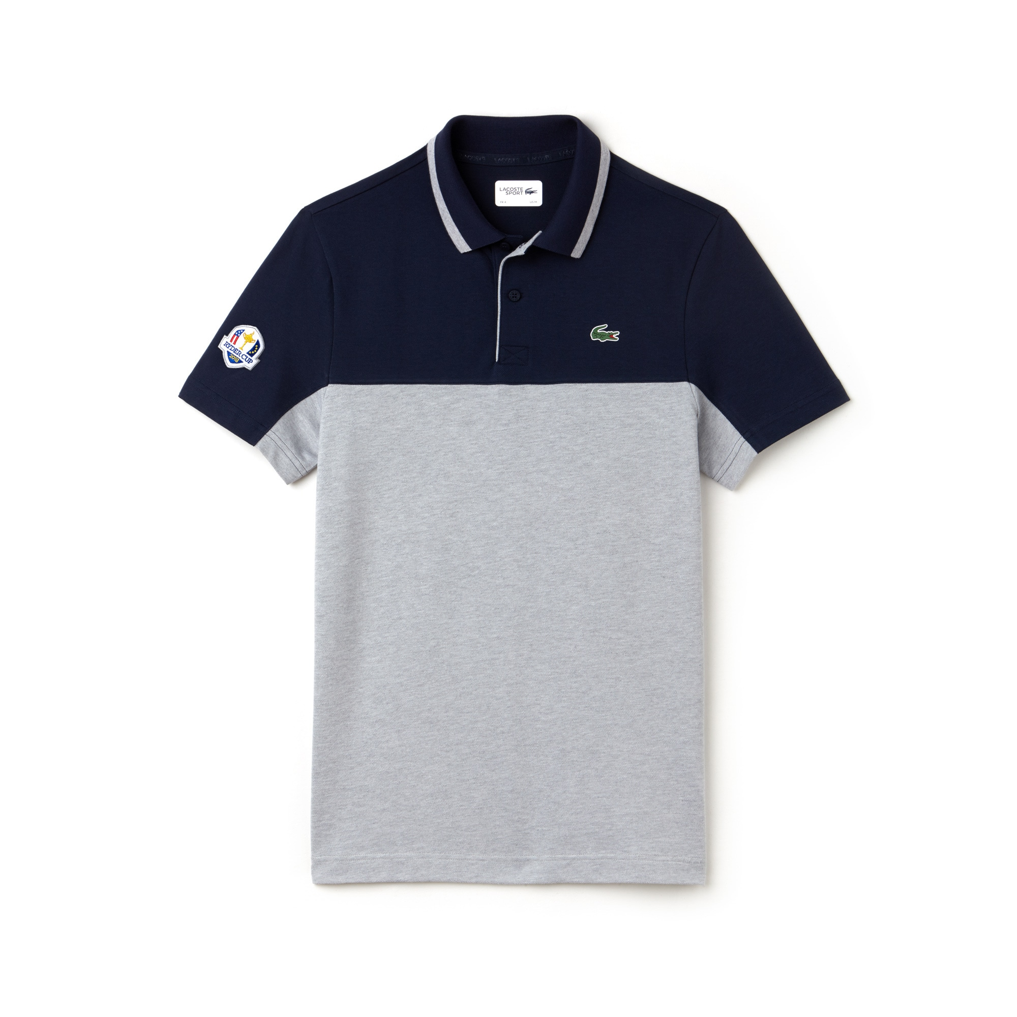 Men's Lacoste SPORT Ryder Cup Edition Tech Petit Piqué Golf Polo Shirt