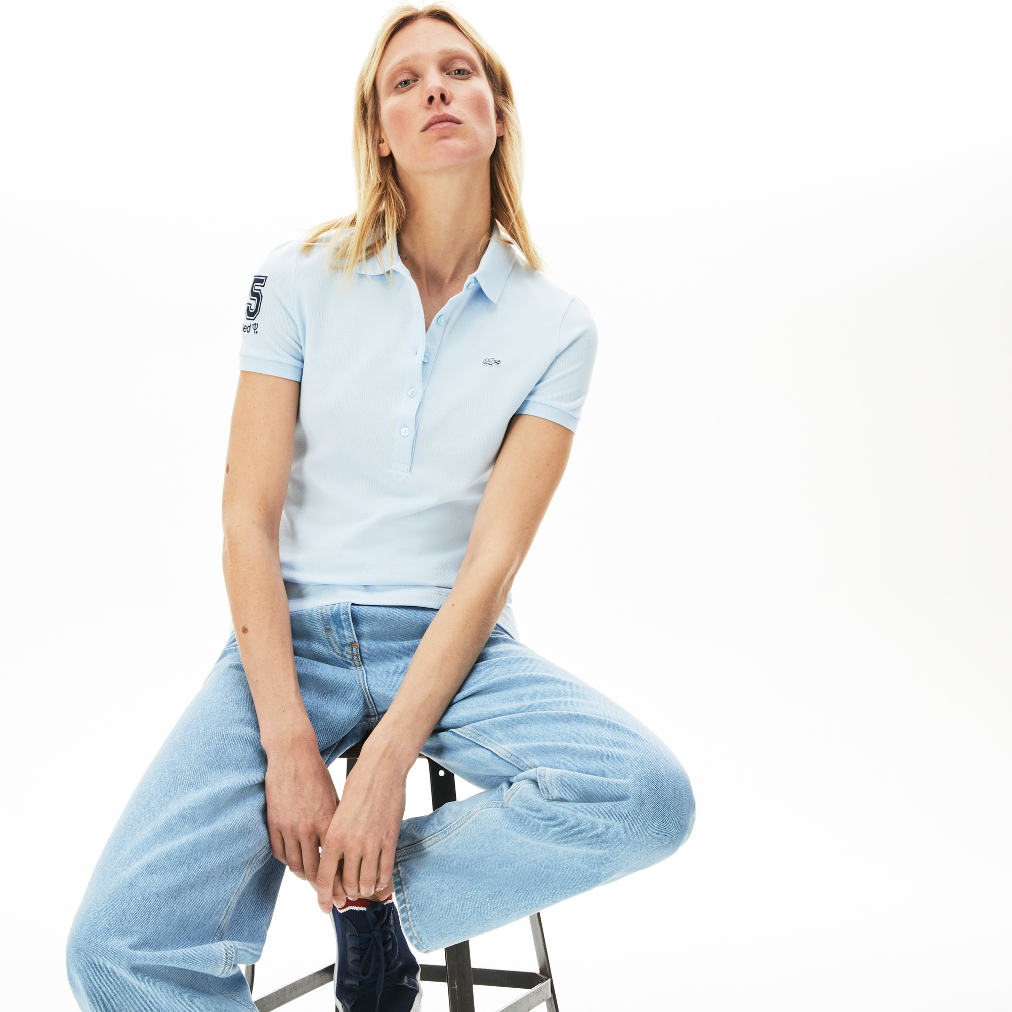 The Feminine Lacoste - Club Med polo