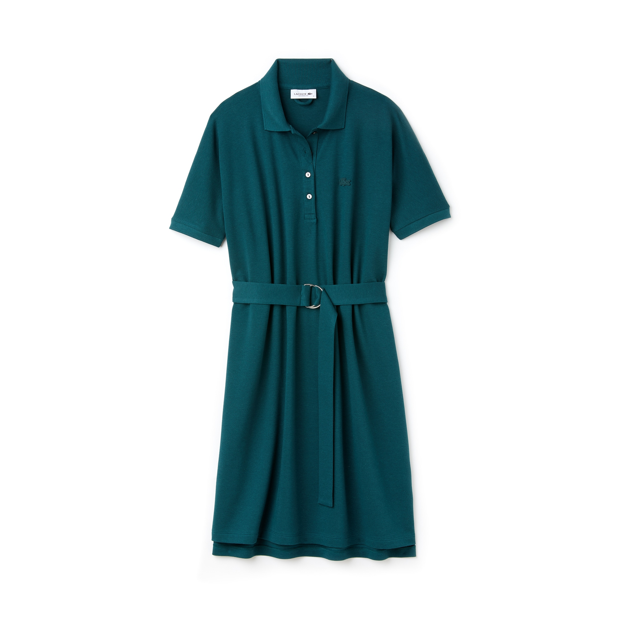 Women's Lacoste Flowing Cotton Piqué Polo Dress