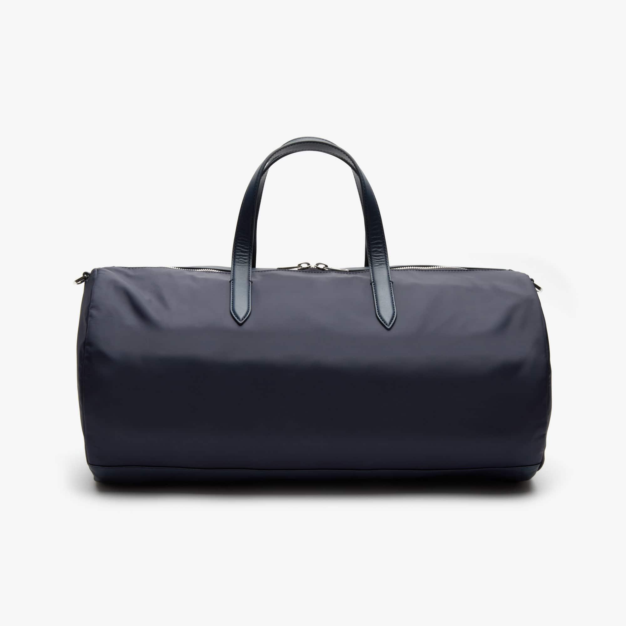 Men S L 12 Signature Detachable Shoulder Strap Leather Duffle Bag