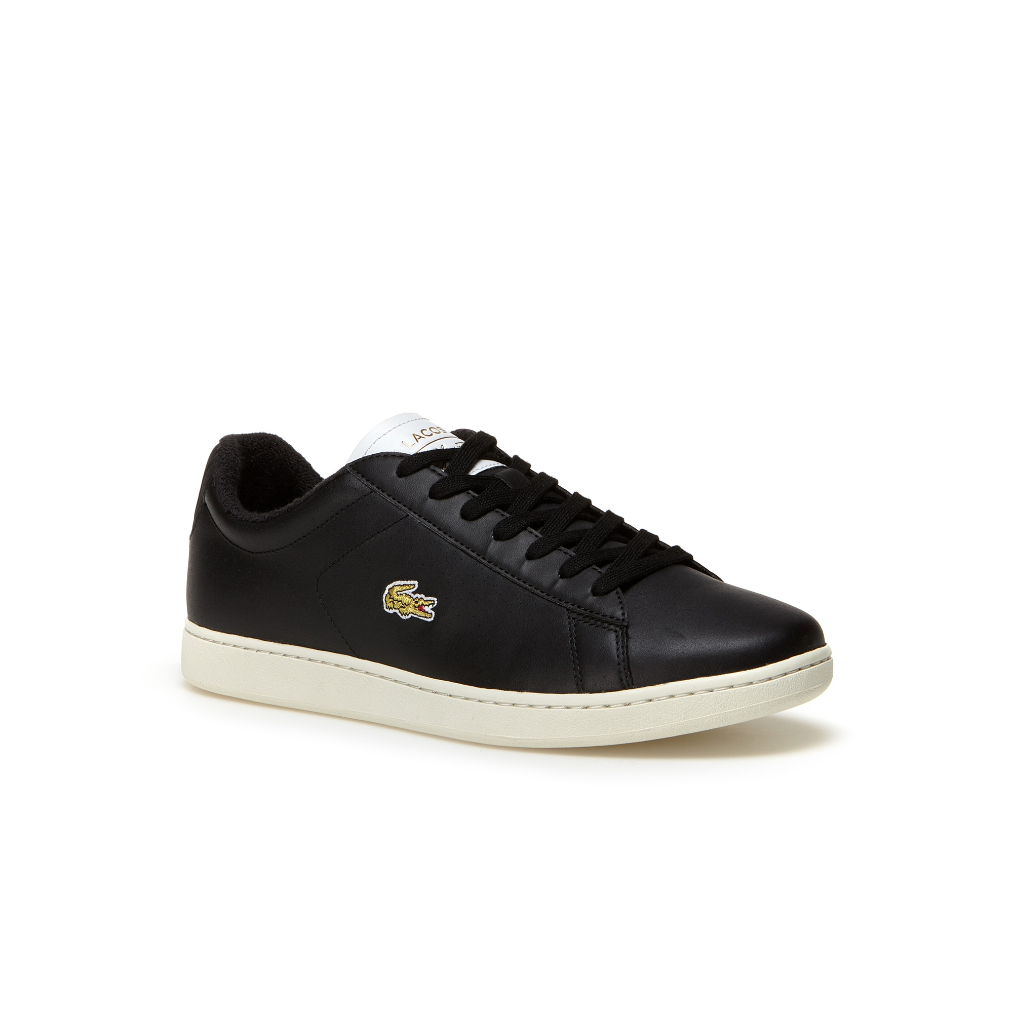 Men's Carnaby Evo Leather Trainers with gold croc