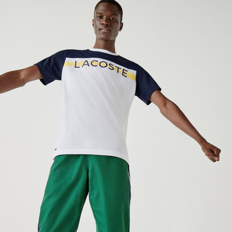 Men's Lacoste SPORT French Capsule Breathable T-shirt