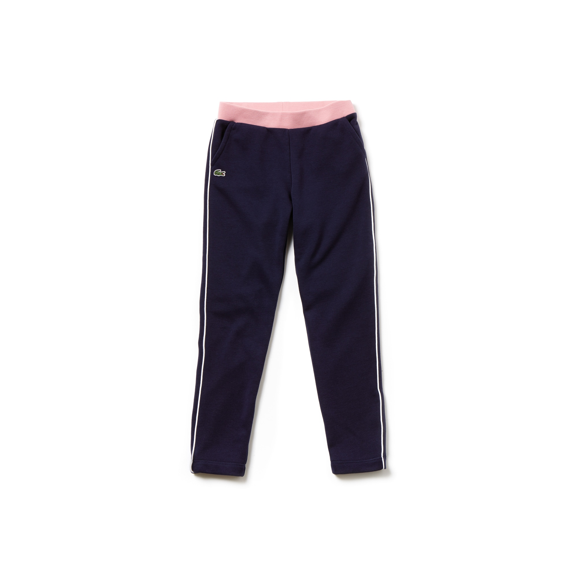 Girls' Contrast Accents Fleece Sweatpants