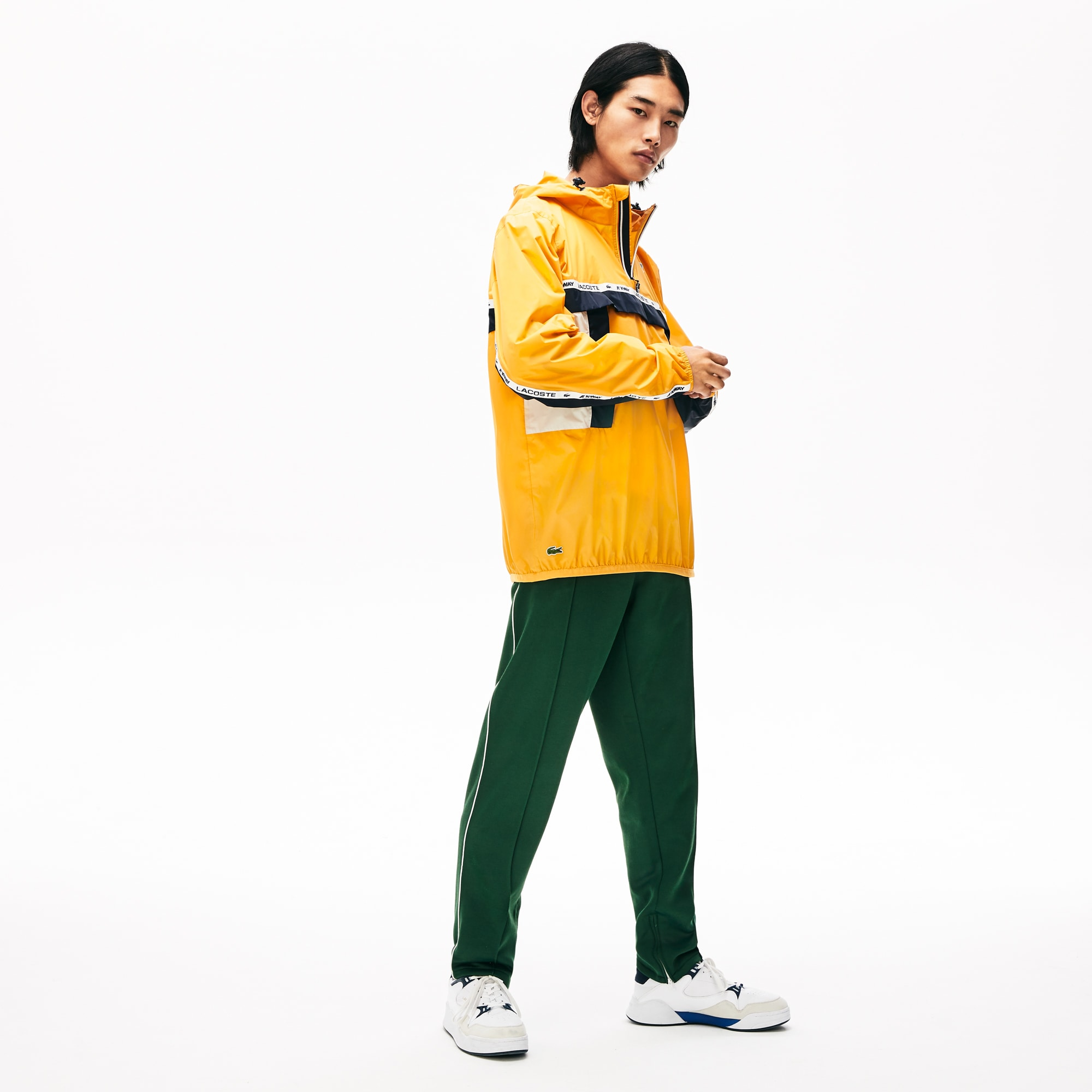 Unisex Lacoste x K-Way® Colourblocking Windbreaker