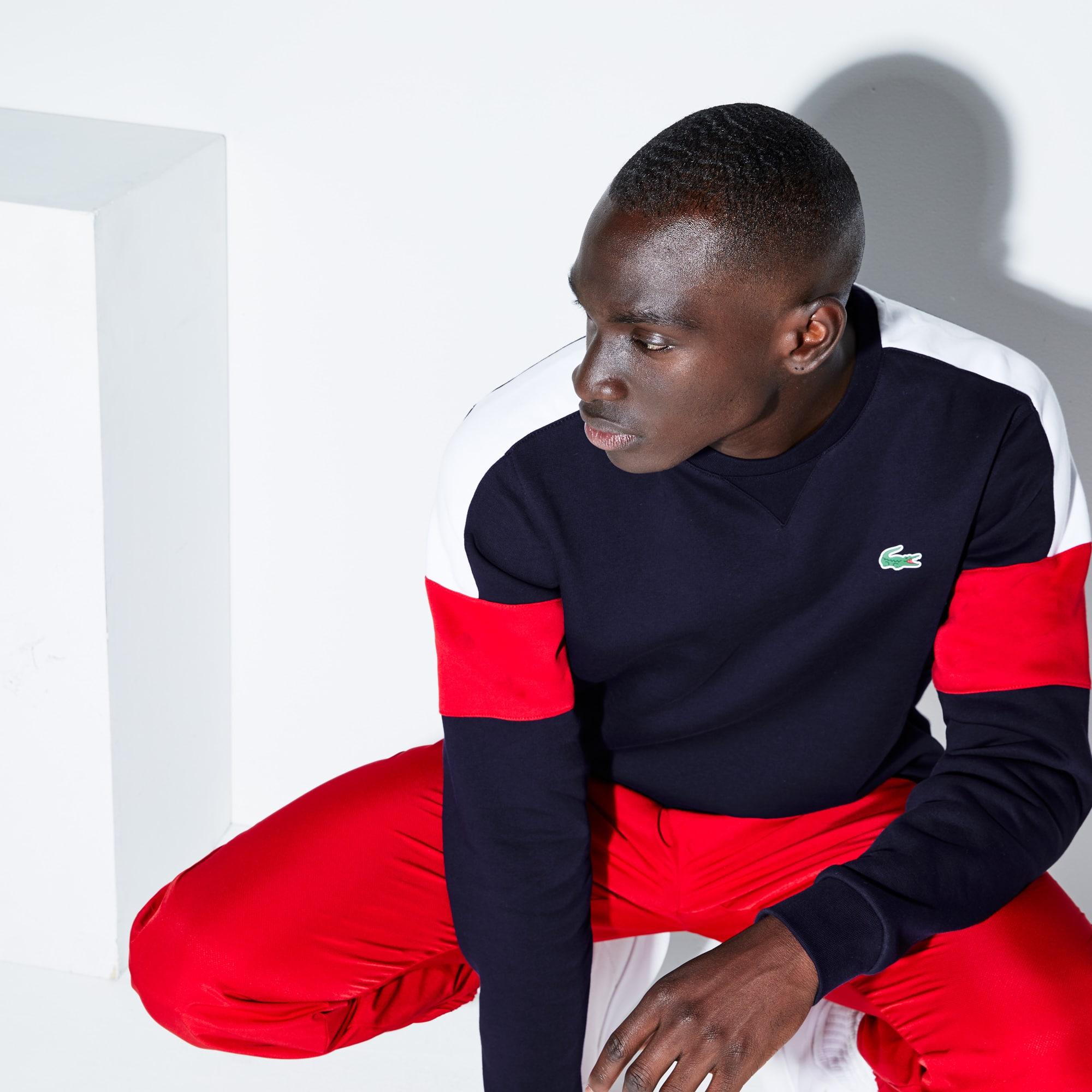 Men's Lacoste SPORT Colorblock Fleece Tennis Sweatshirt
