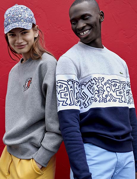 03697b24a0e6d Lacoste X Keith Haring