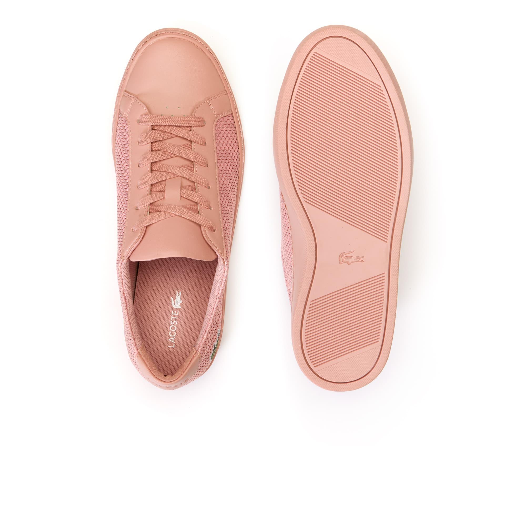 e810ed4485 Zapatillas de mujer L.12.12 Light-WT de material textil y piel