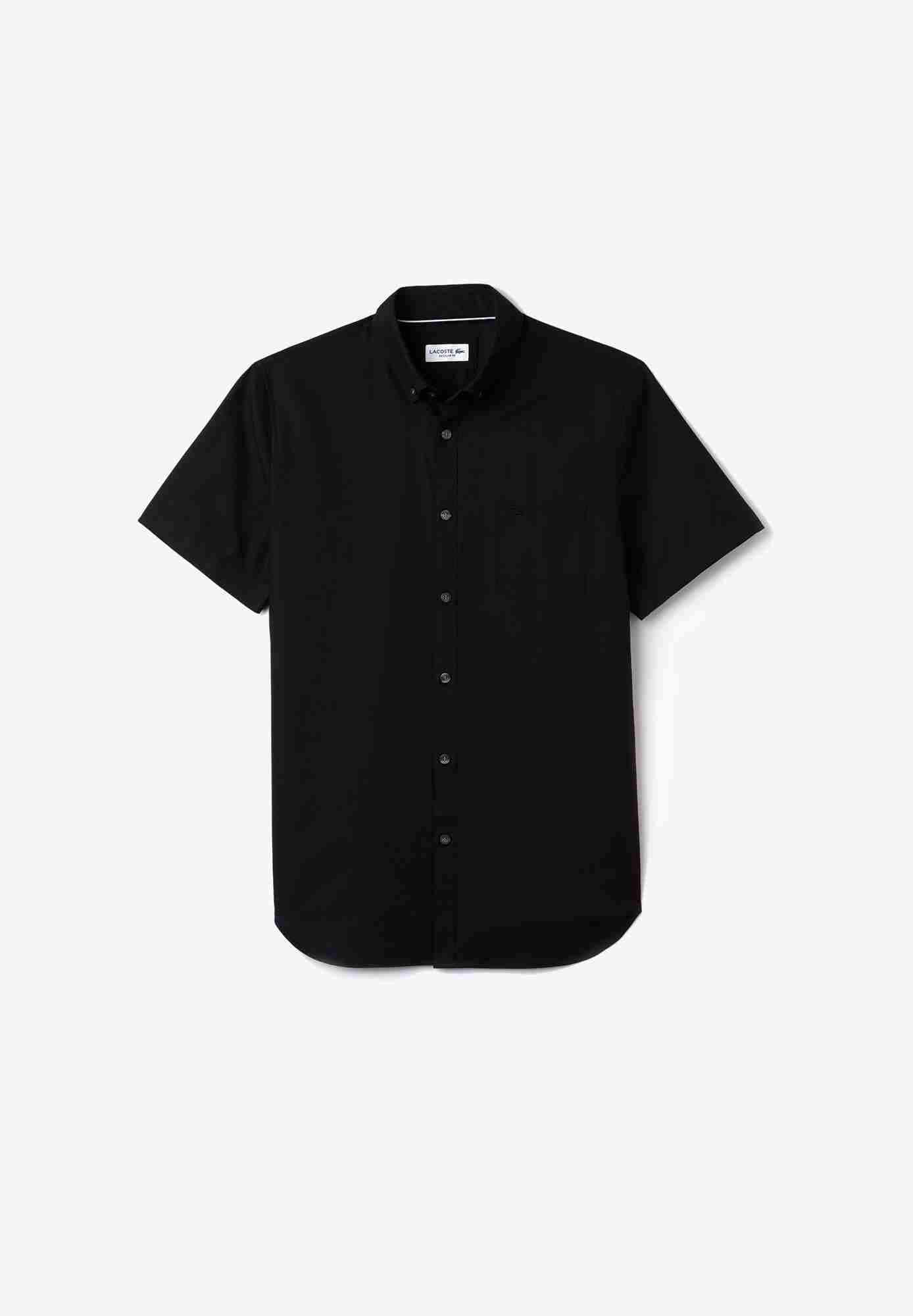 Camisa De Hombre Regular Fit En Mini Piqué