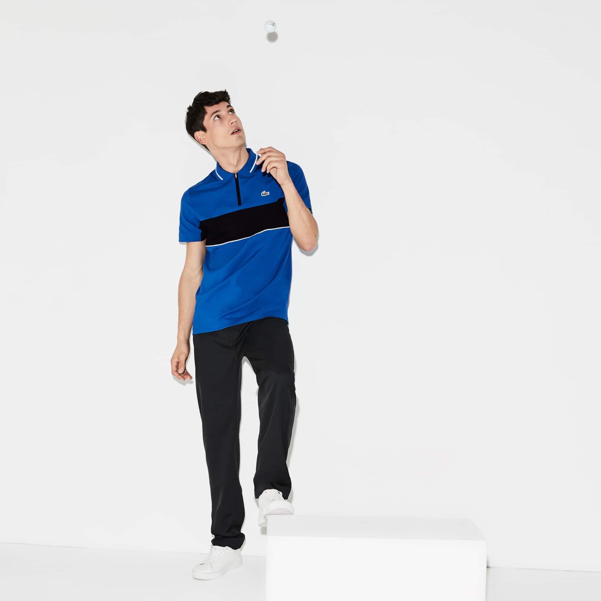 Polo De Hombre Lacoste SPORT Golf En Piqué Técnico Con Franjas A Contraste