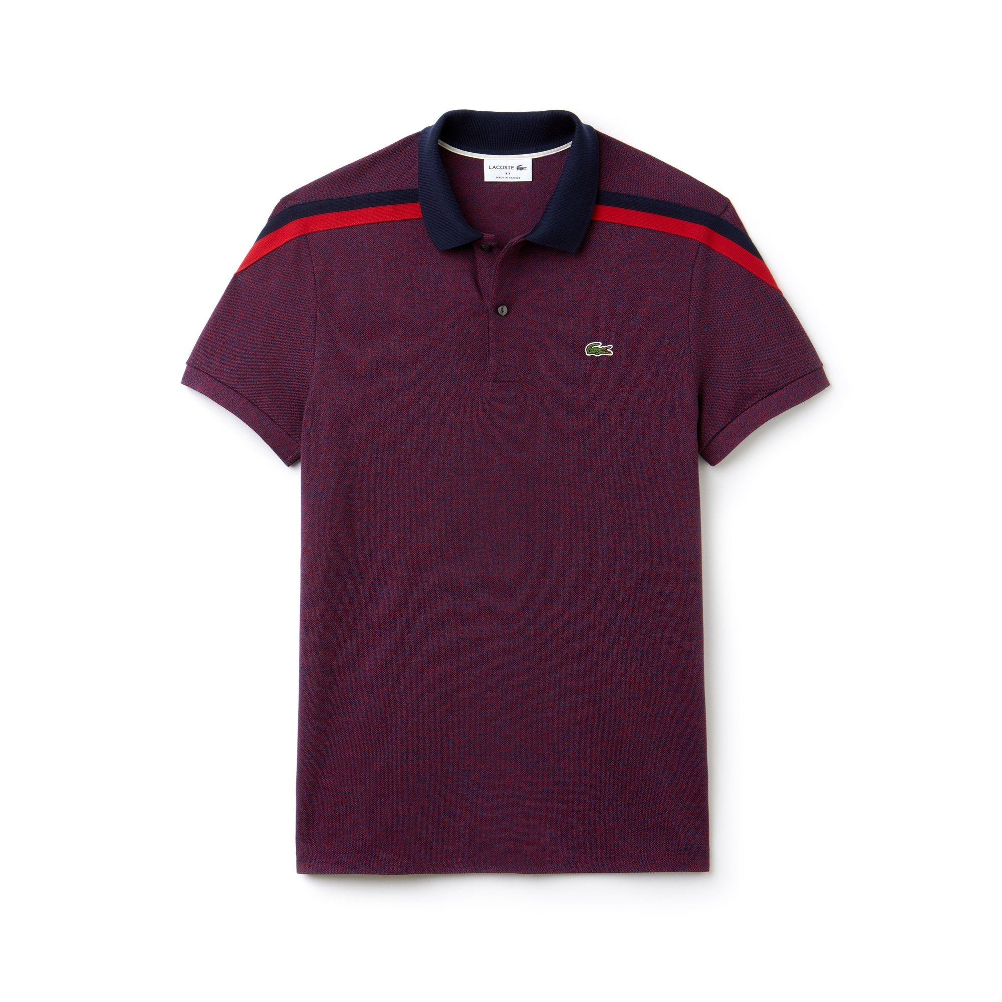 Lacoste - Polo De Hombre Lacoste Made In France Regular Fit En Piqué De Algodón - 3