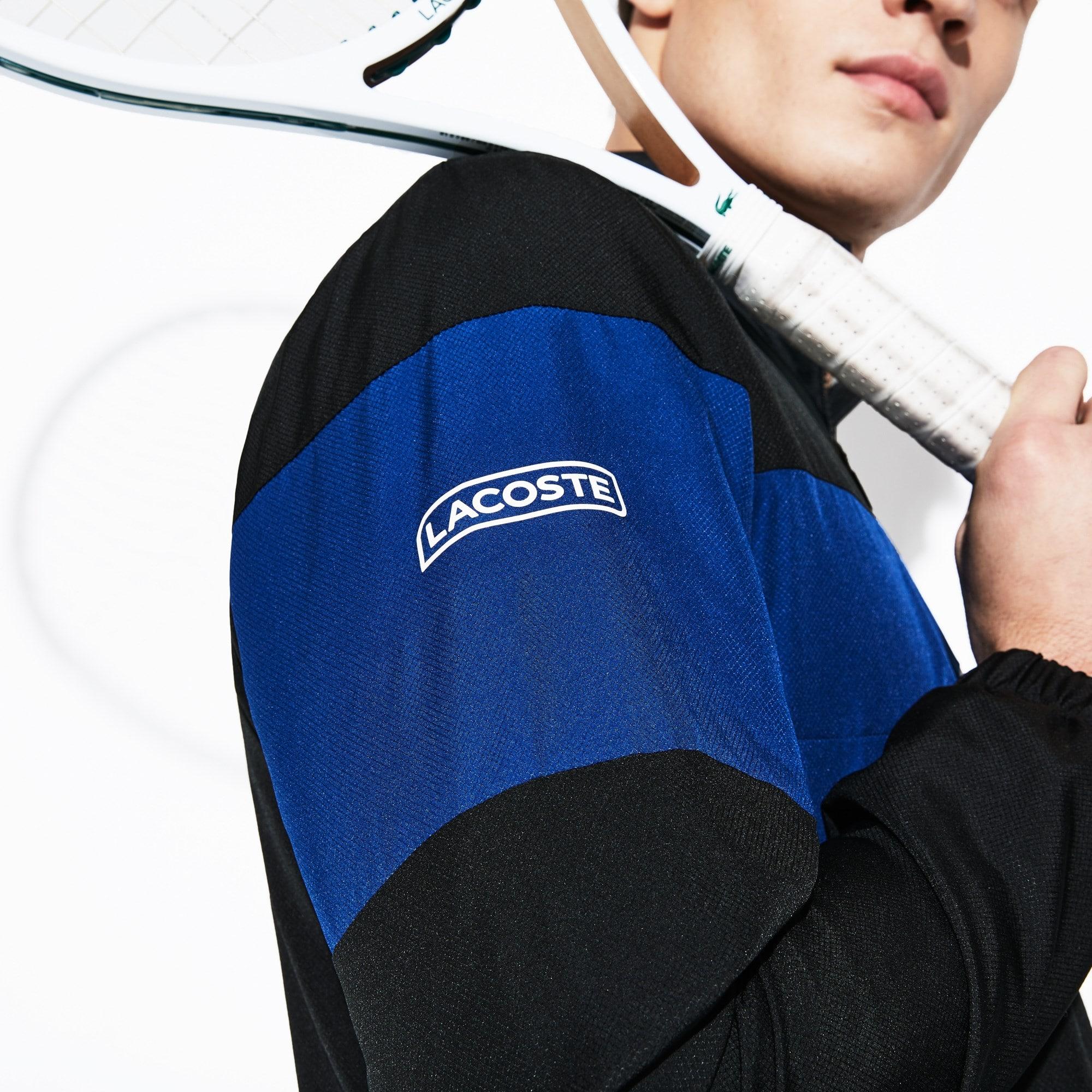 Lacoste - Chándal De Hombre Lacoste SPORT Tennis En Tafetán Con Franjas De Colores - 2