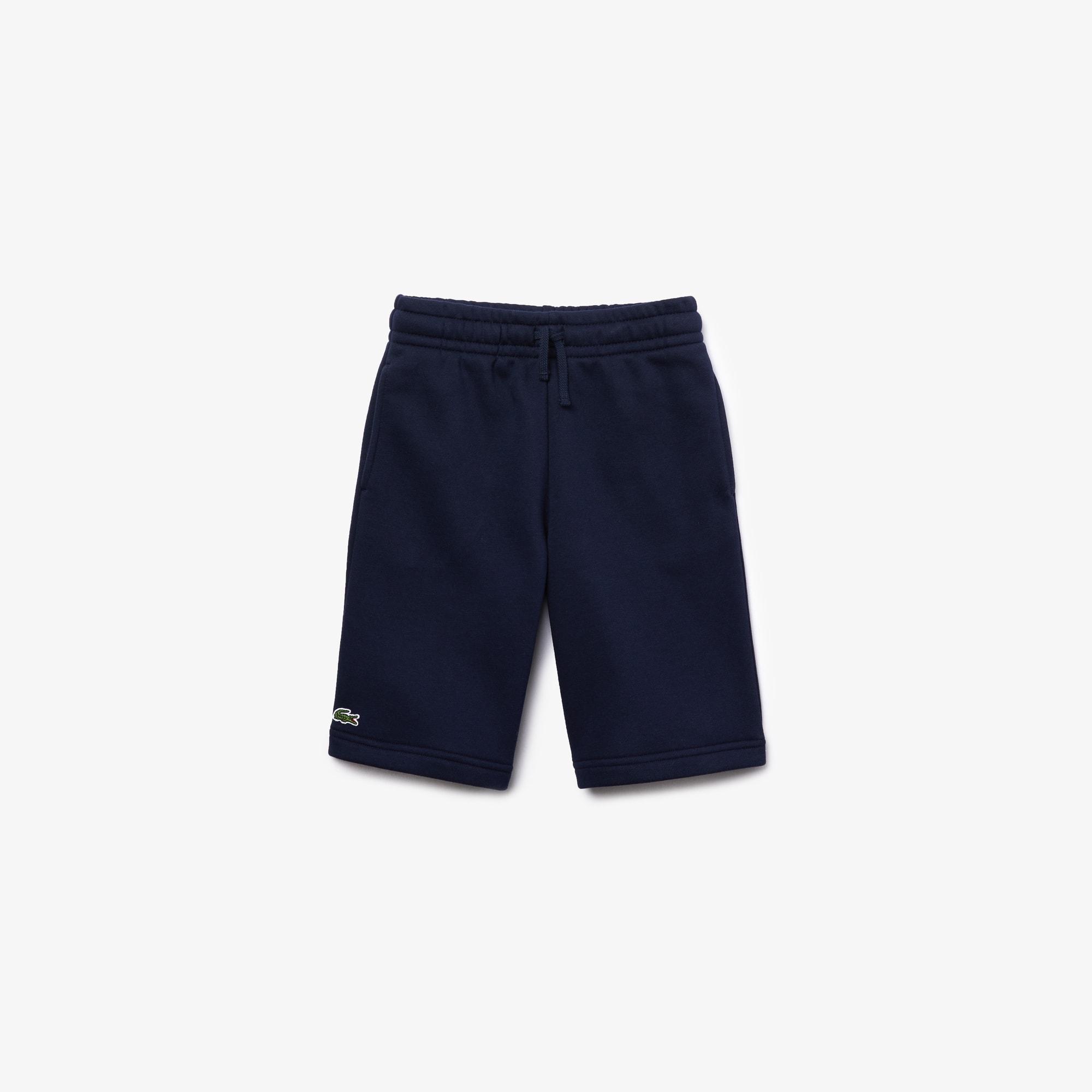 Pantalón corto de niño Lacoste SPORT Tennis en felpa de algodón