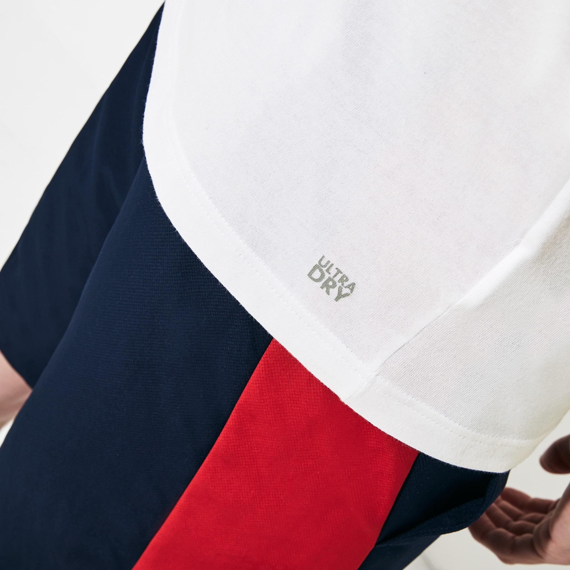 Lacoste - Camiseta Tenis Lacoste SPORT De Punto Técnico Con Cocodrilo Oversized - 4