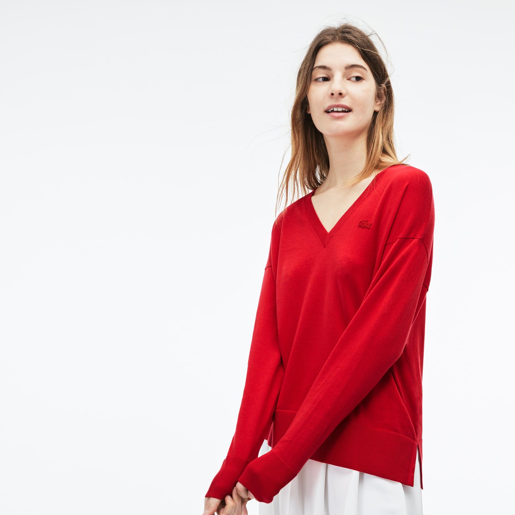 Jersey Mujer Cuello Pico