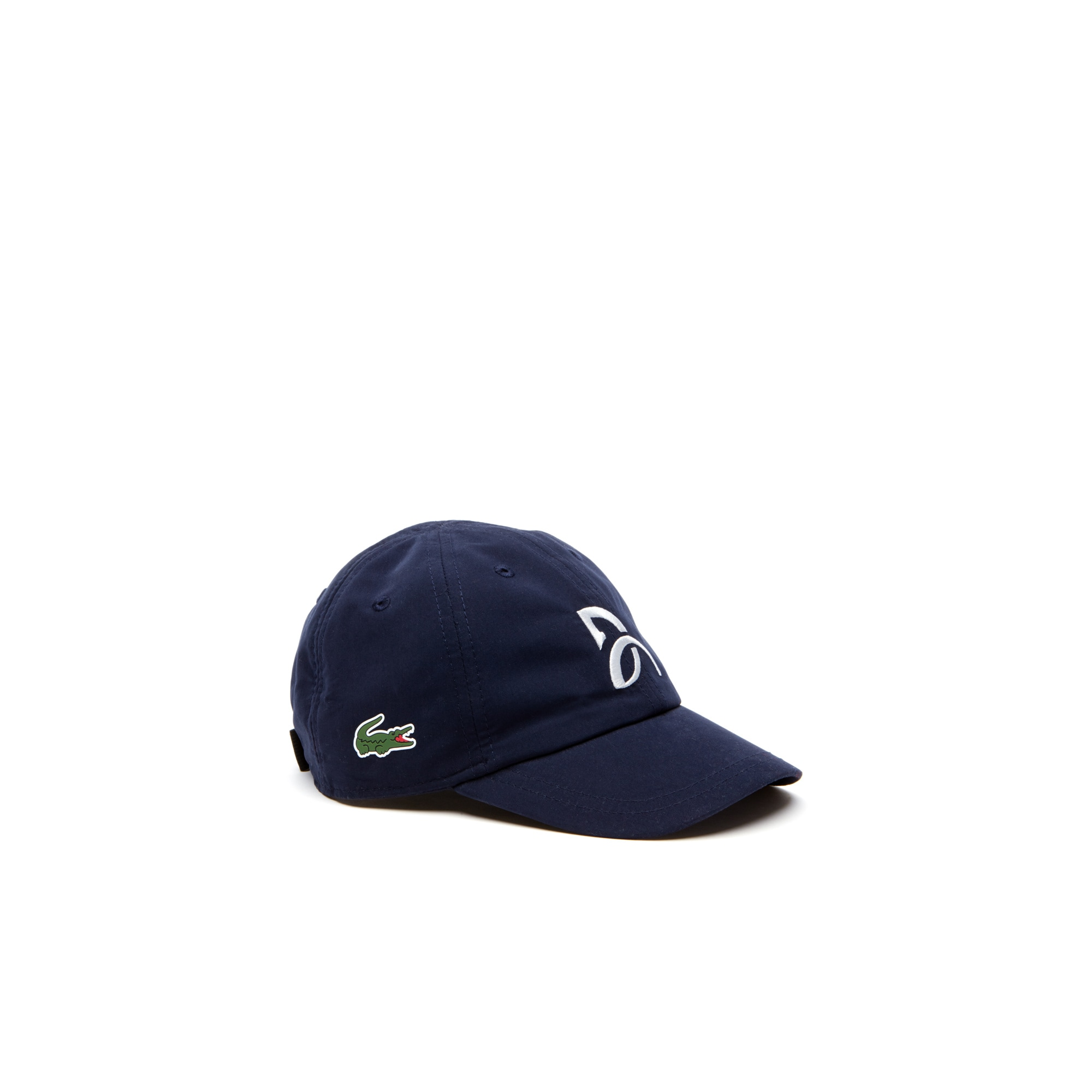 Gorra de niño Lacoste SPORT COLLECTION NOVAK DJOKOVIC SUPPORT WITH STYLE de microfibra