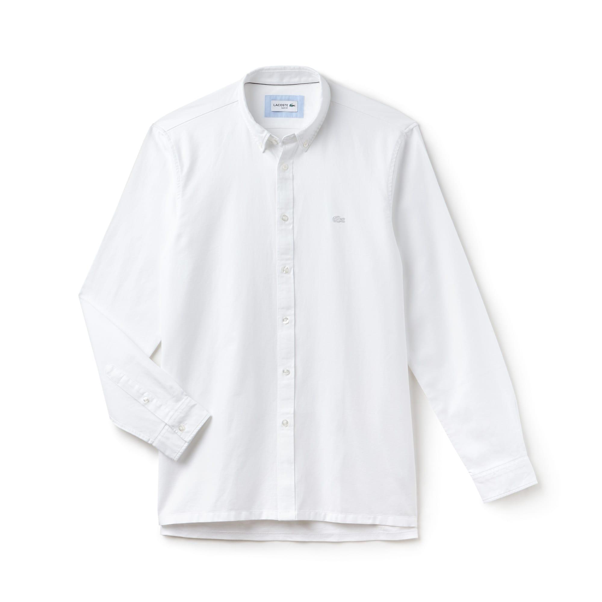 Camisa Hombre En Piqué De Algodón Lacoste Motion