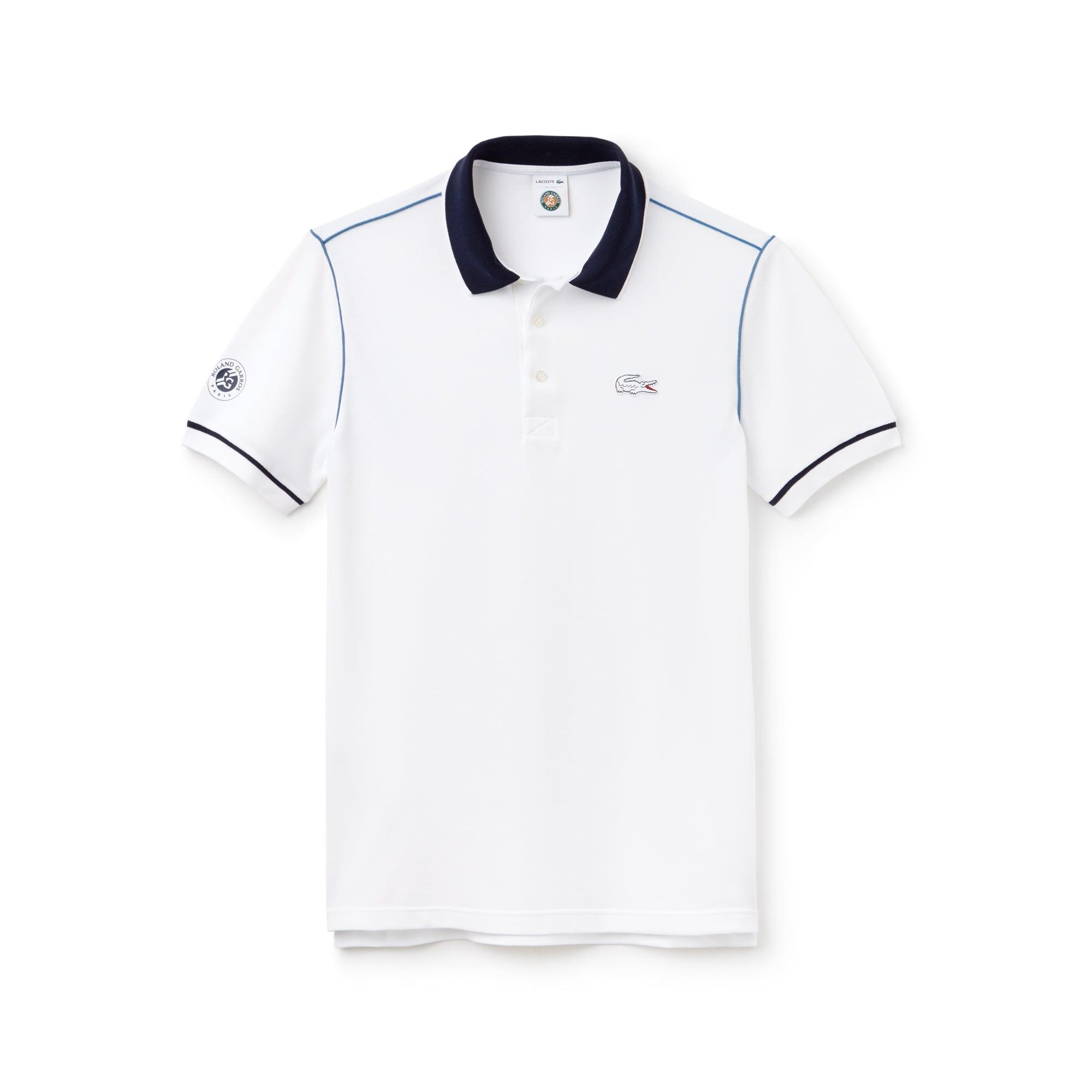 Polo Lacoste SPORT de mini piqué con cordoncillo Edición Roland Garros