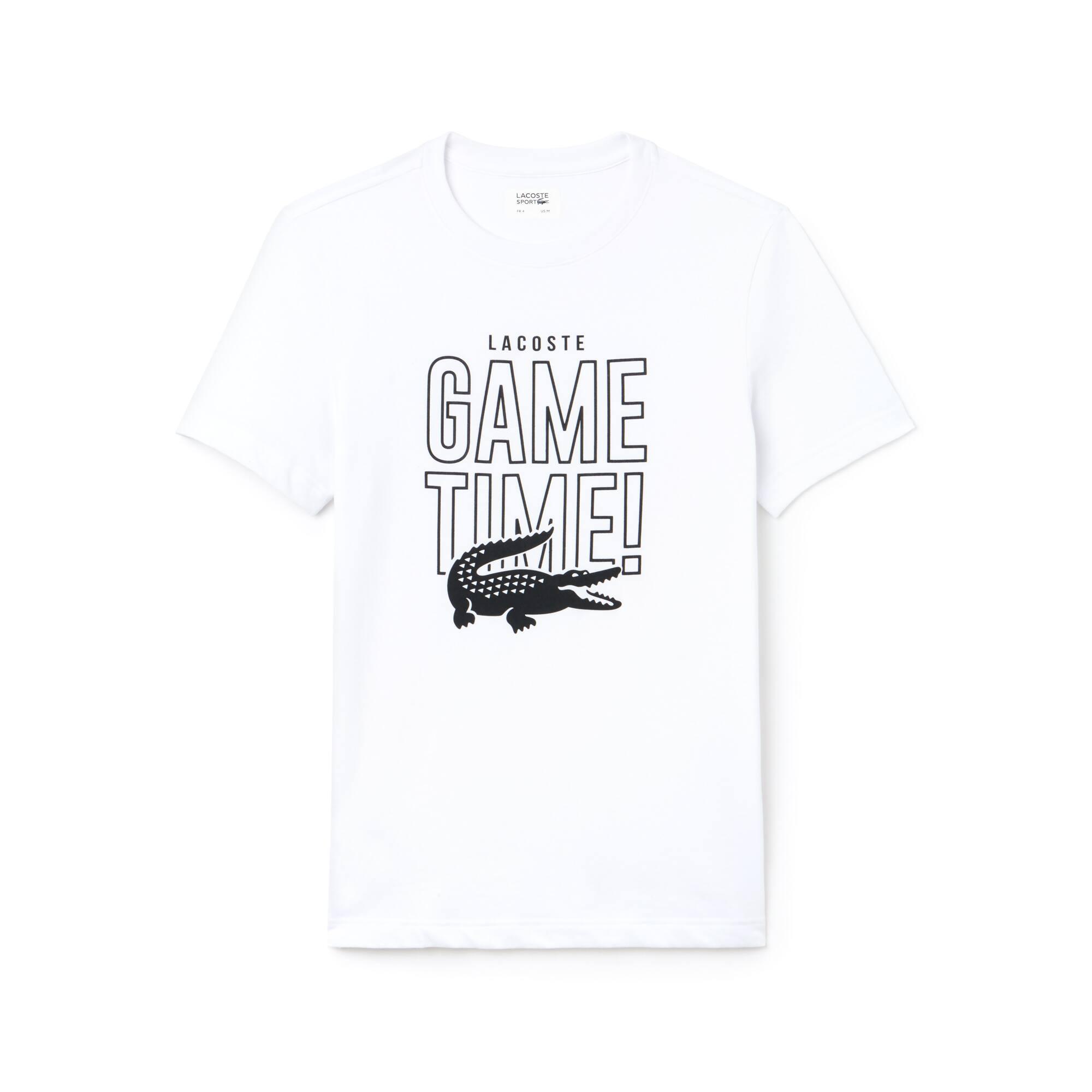 Lacoste - Camiseta De Hombre Lacoste SPORT Tennis Game Time En Tejido De Punto Con Cuello Redondo - 3