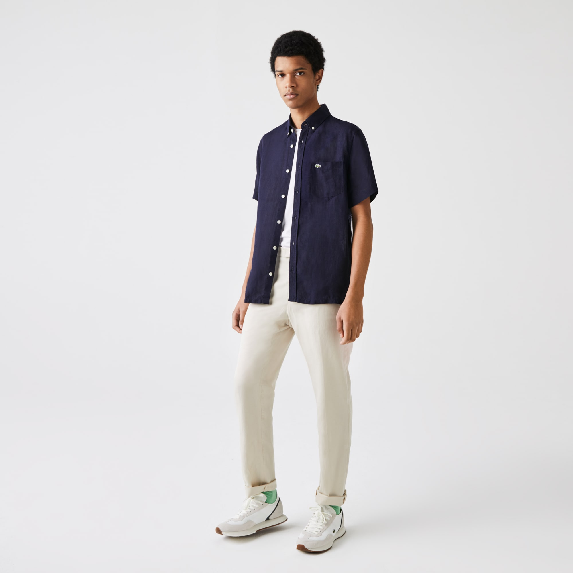 Lacoste - Camisa Lino - 1
